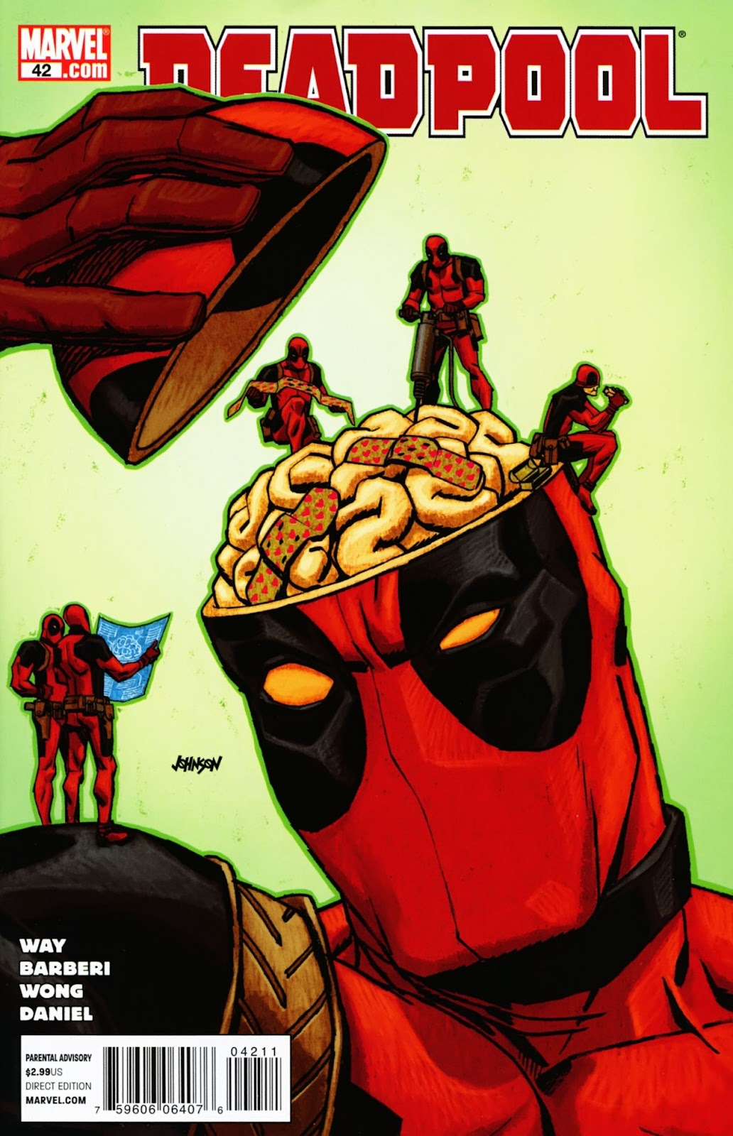 Read online Deadpool (2008) comic -  Issue #42 - 1