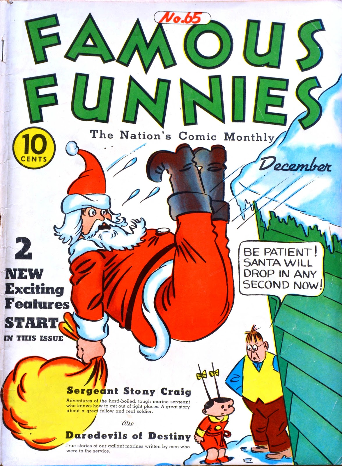 Read online Famous Funnies comic -  Issue #65 - 1