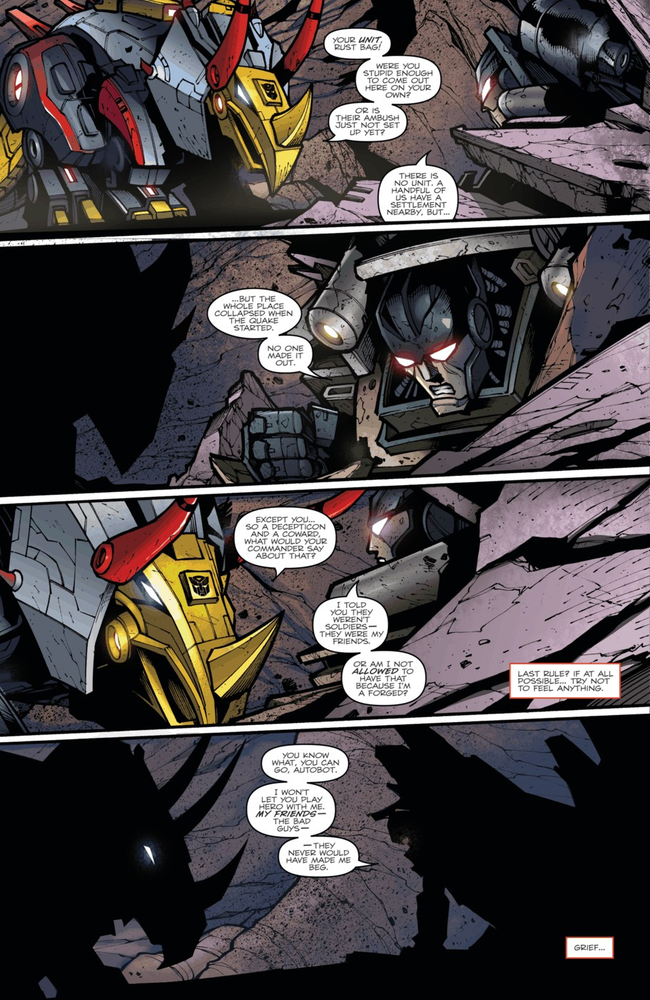 Read online Transformers Prime: Beast Hunters comic -  Issue #5 - 18