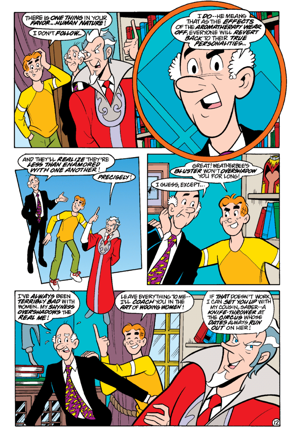 Read online Archie's Weird Mysteries comic -  Issue #19 - 14