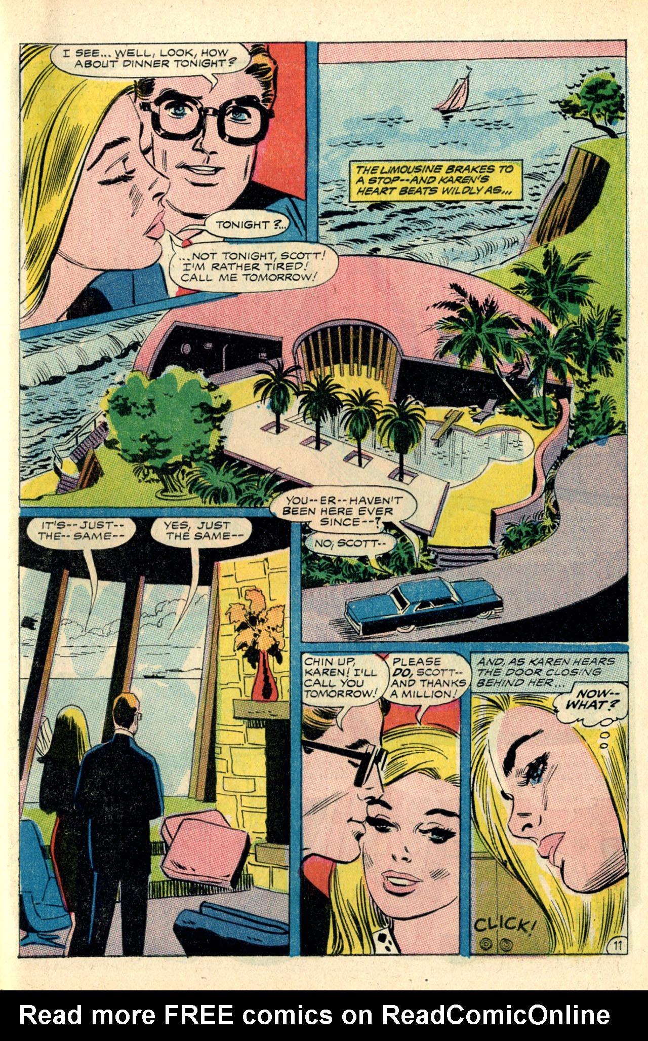 Read online Secret Hearts comic -  Issue #127 - 29