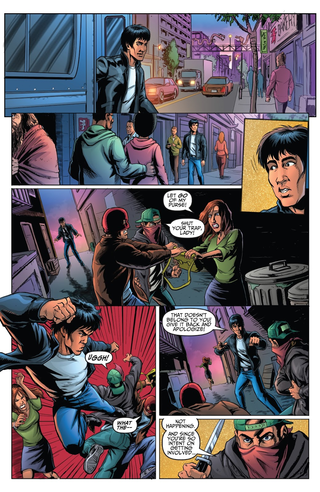 Bruce Lee: Walk of the Dragon issue Full - Page 8