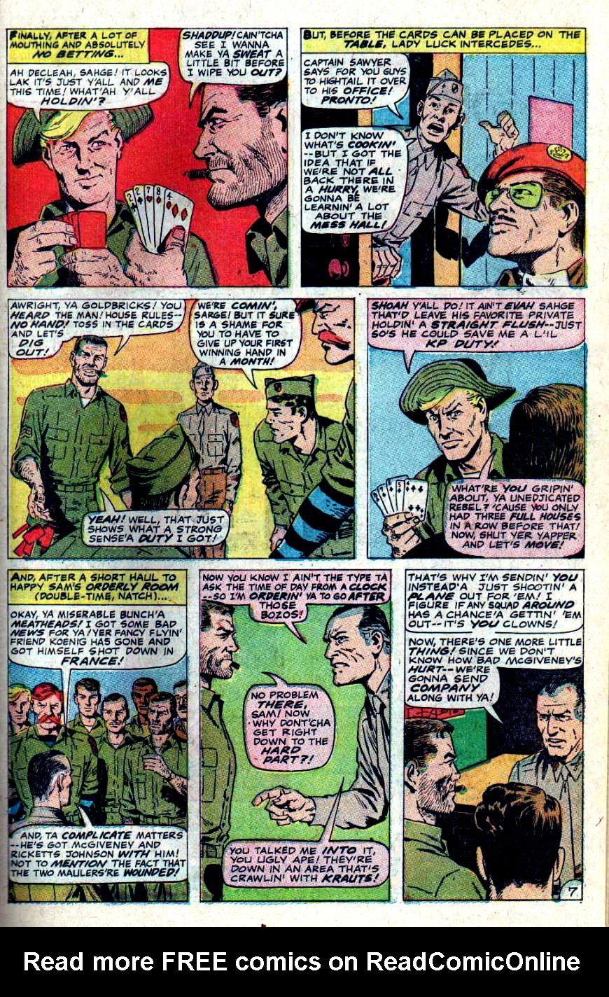 Read online Sgt. Fury comic -  Issue #46 - 11