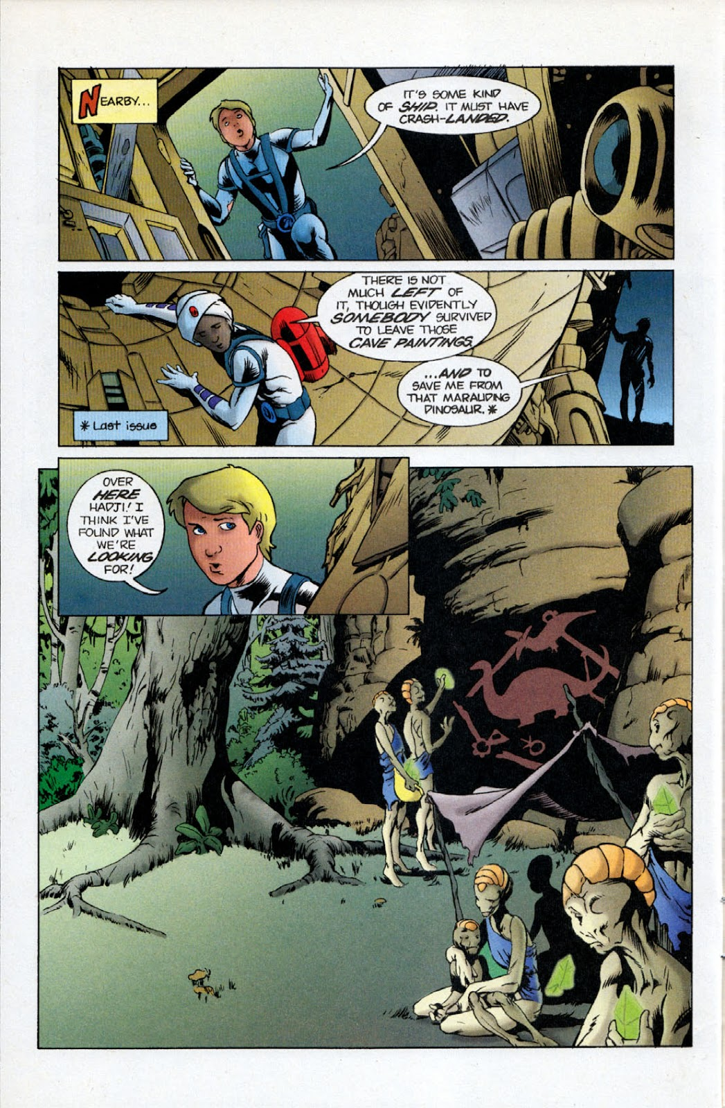 Read online The Real Adventures of Jonny Quest comic -  Issue #11 - 4