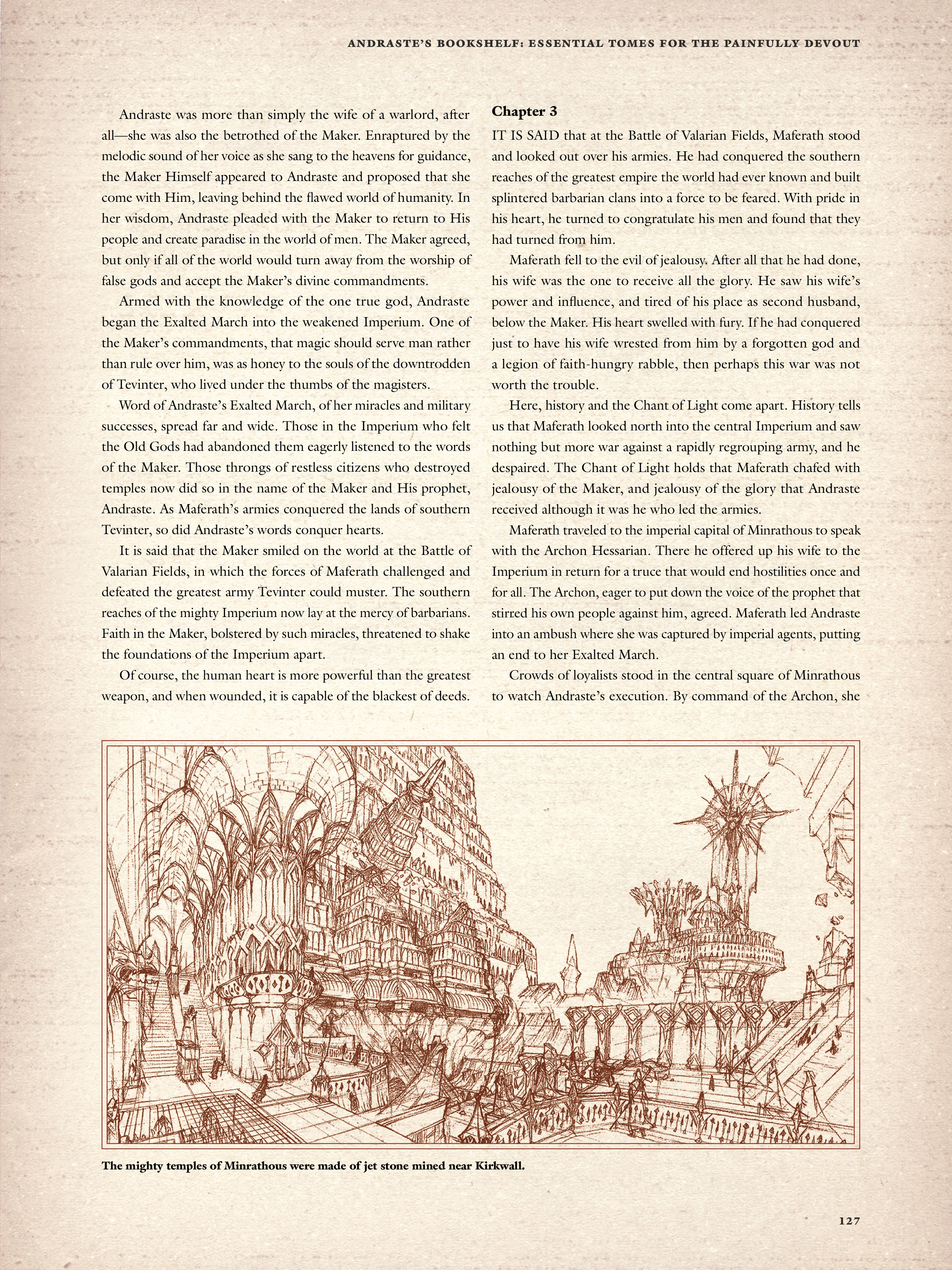 Read online Dragon Age: The World of Thedas comic -  Issue # TPB 2 - 123