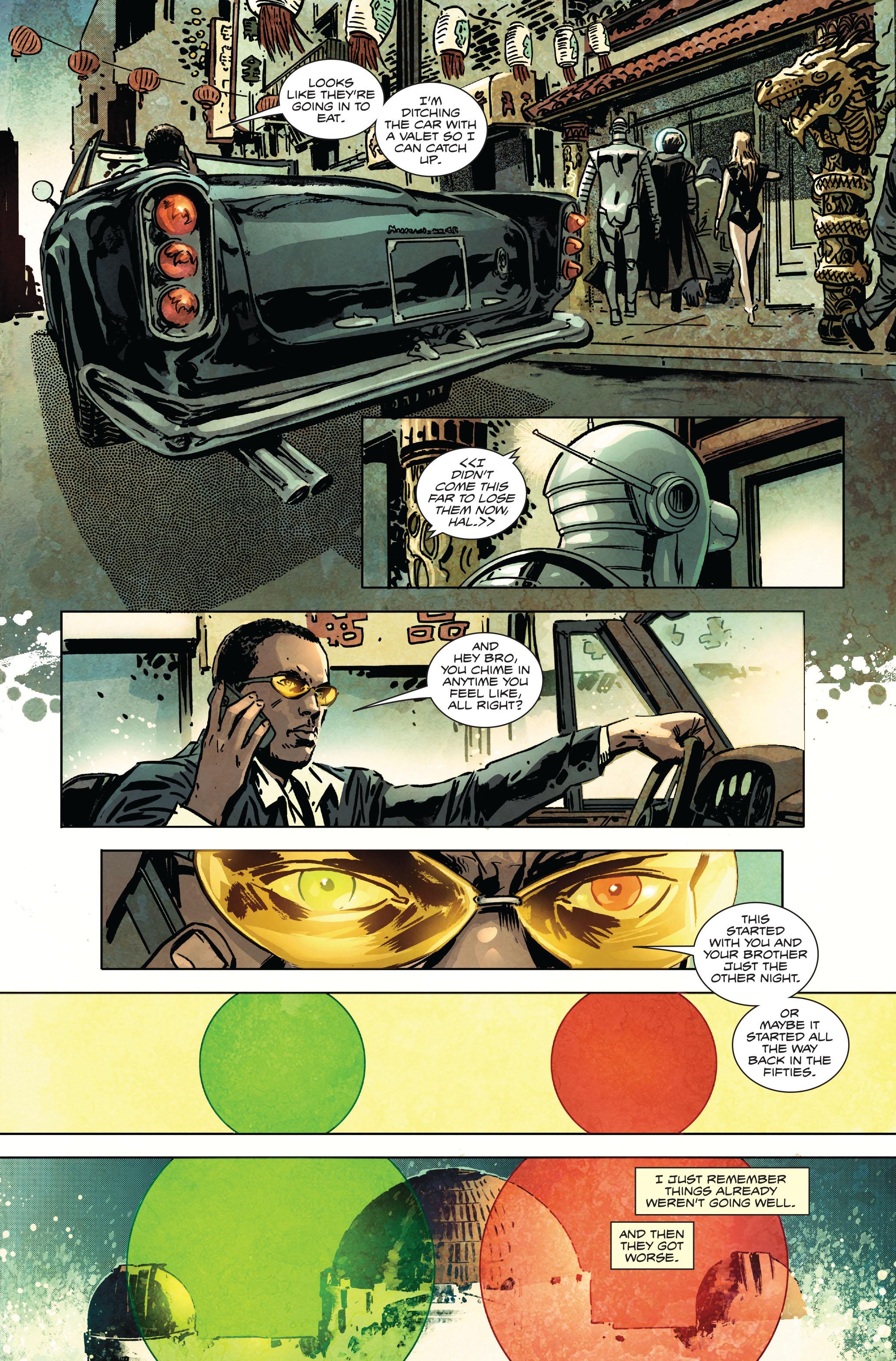Read online Atlas comic -  Issue #1 - 4