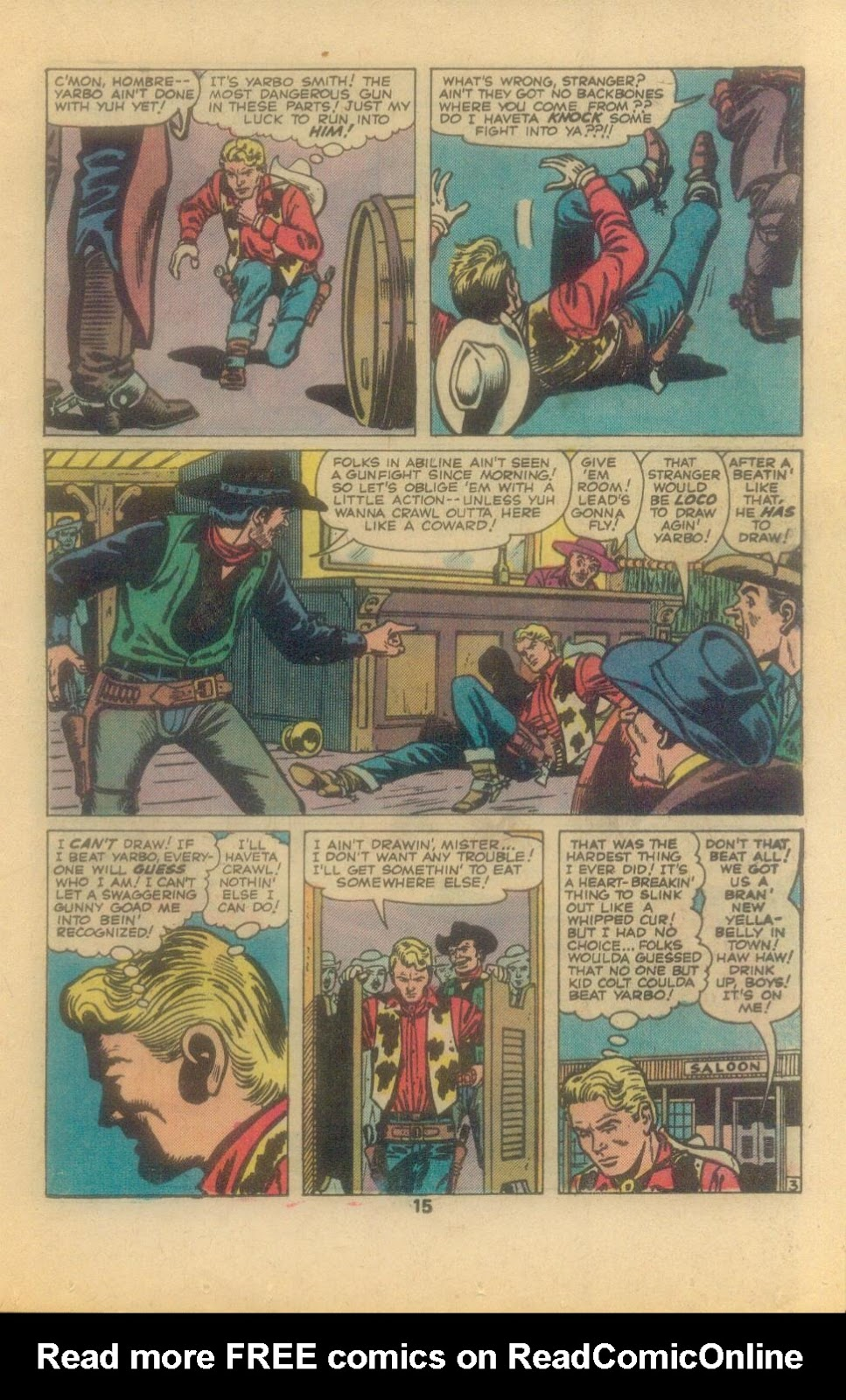 Kid Colt Outlaw issue 209 - Page 17