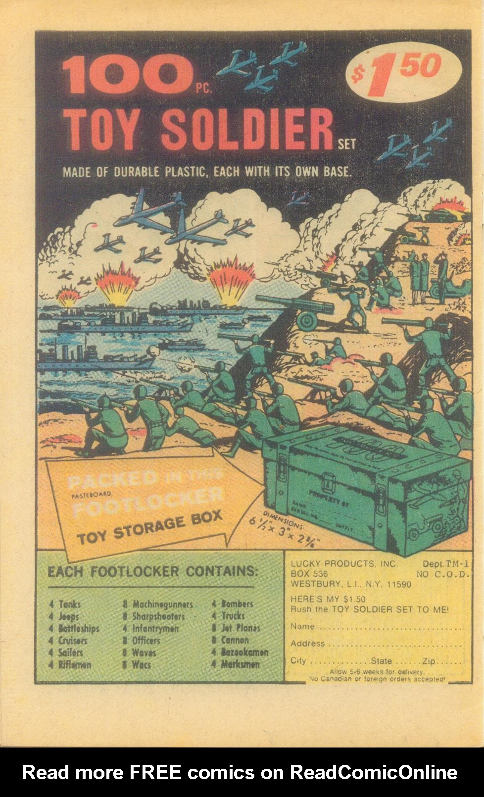 Read online Sgt. Fury comic -  Issue #132 - 34
