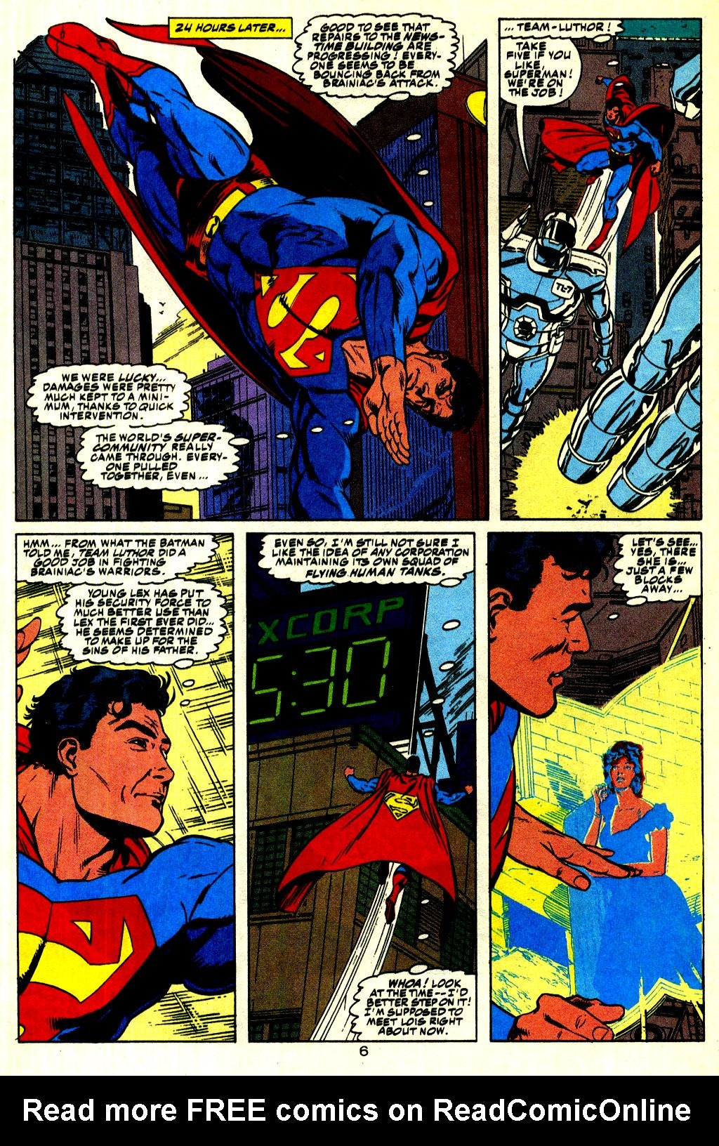 Read online Action Comics (1938) comic -  Issue #676 - 7