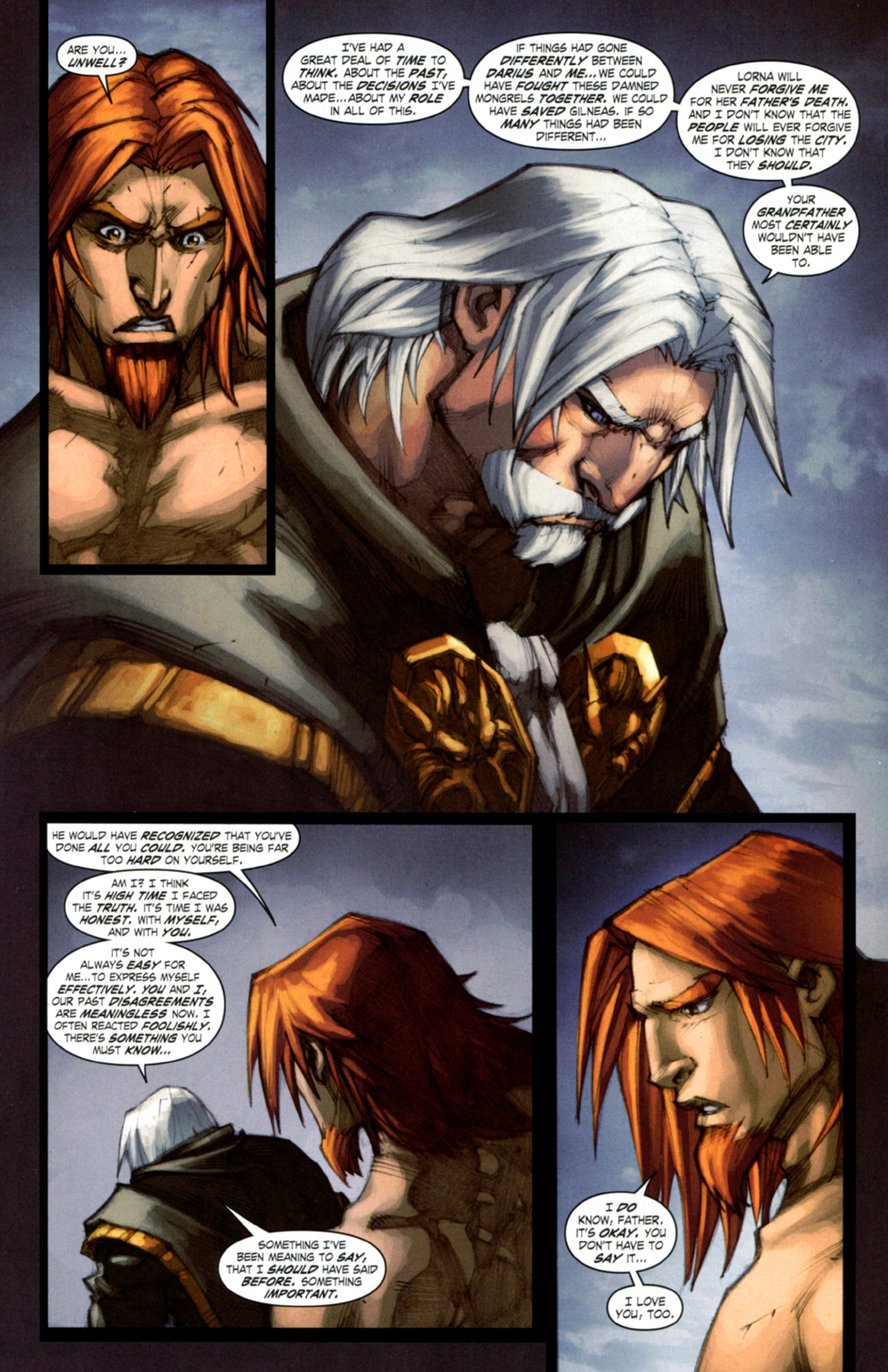 Read online World of Warcraft: Curse of the Worgen comic -  Issue #4 - 28