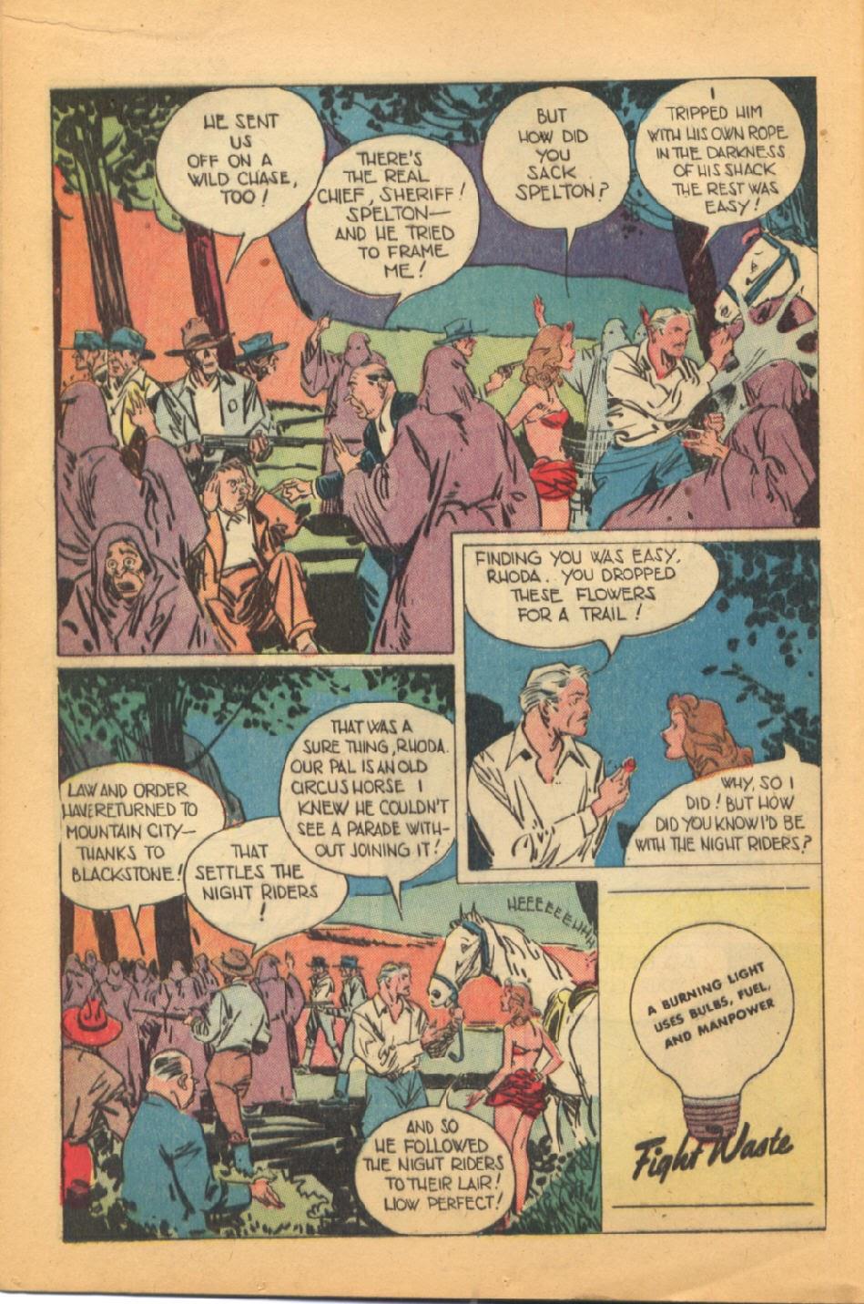 Read online Super-Magician Comics comic -  Issue #44 - 16