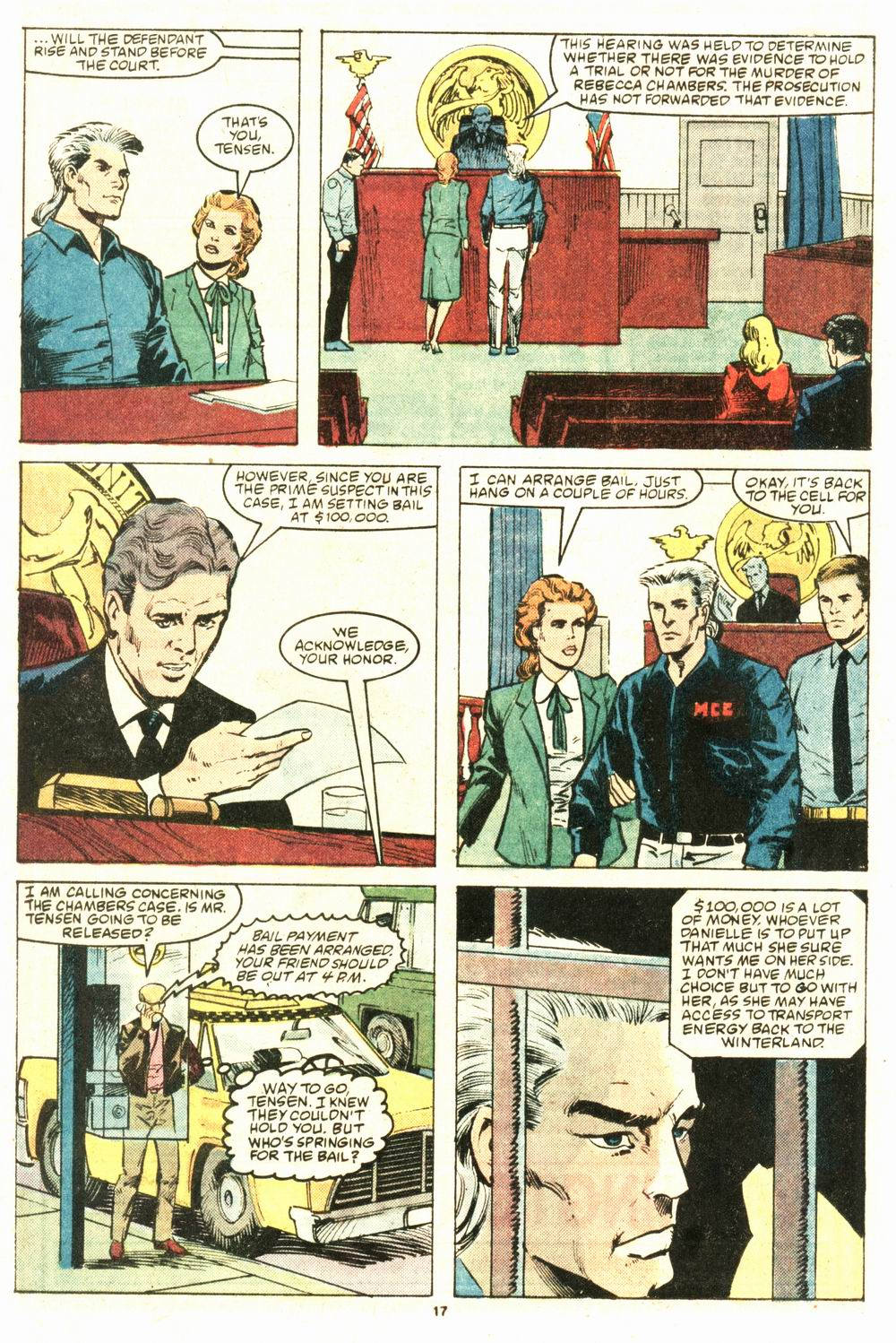 Read online Justice (1986) comic -  Issue #8 - 18