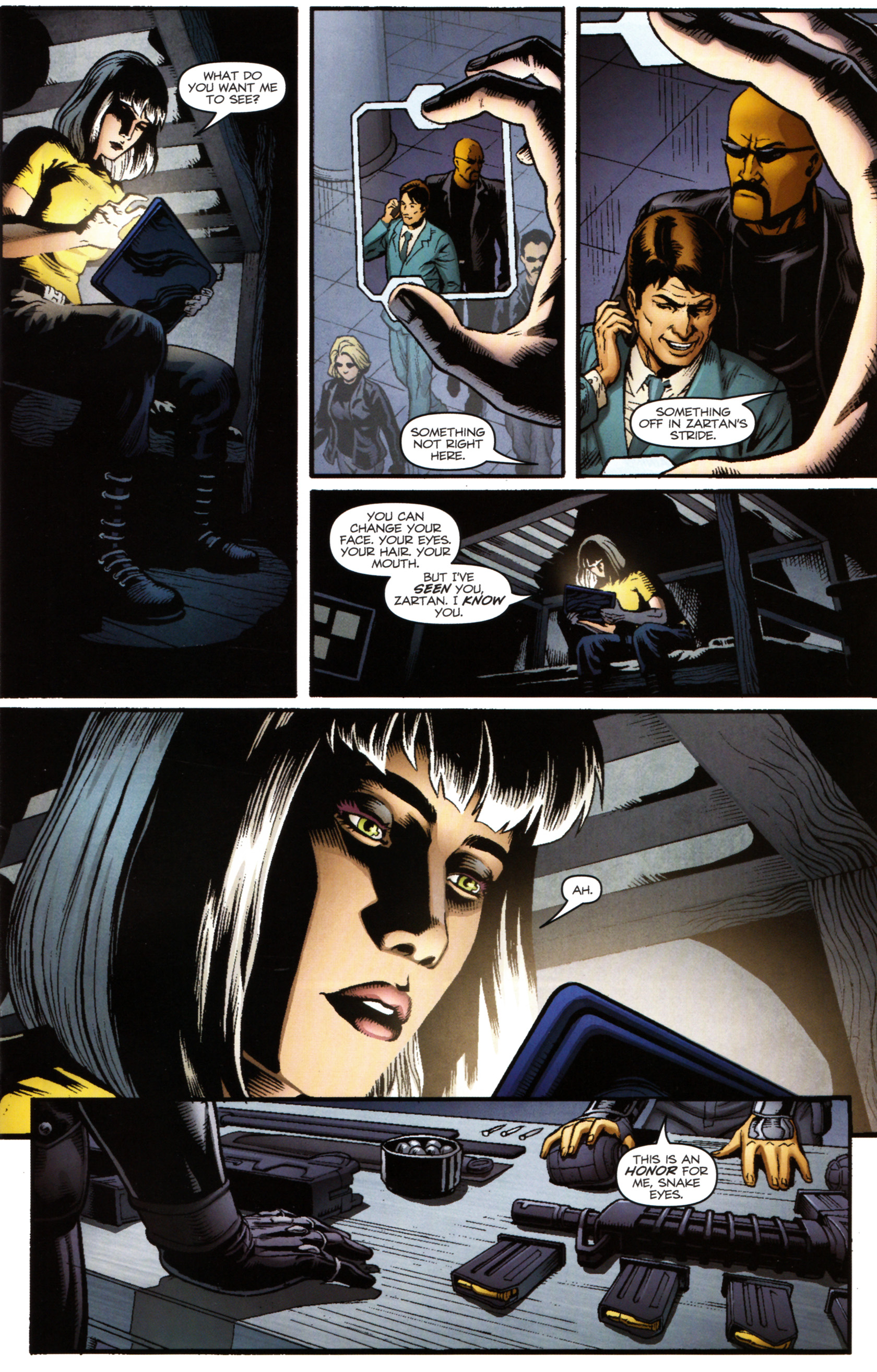 Read online Snake Eyes and Storm Shadow comic -  Issue #14 - 12