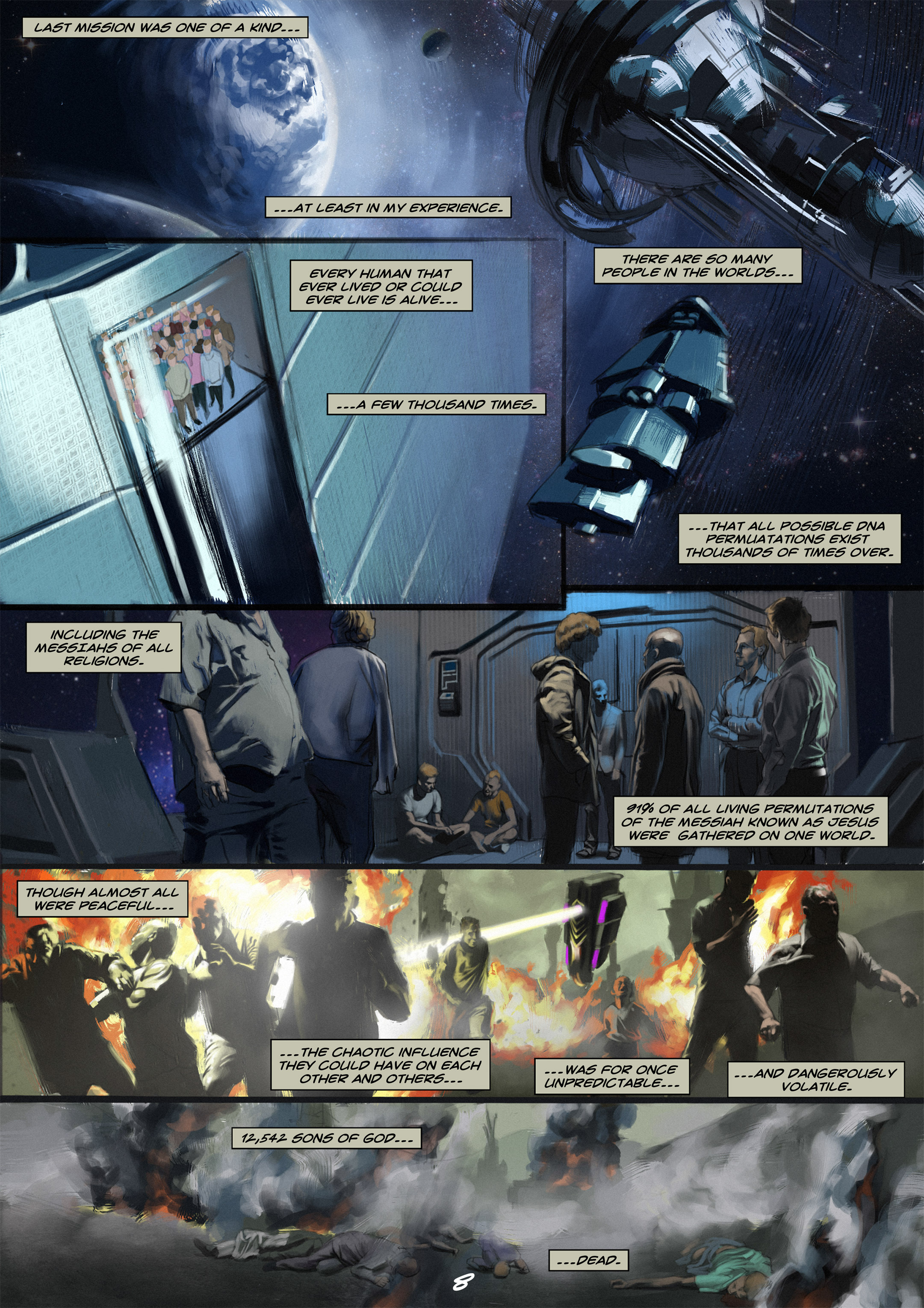 Read online Wynter comic -  Issue #2 - 9