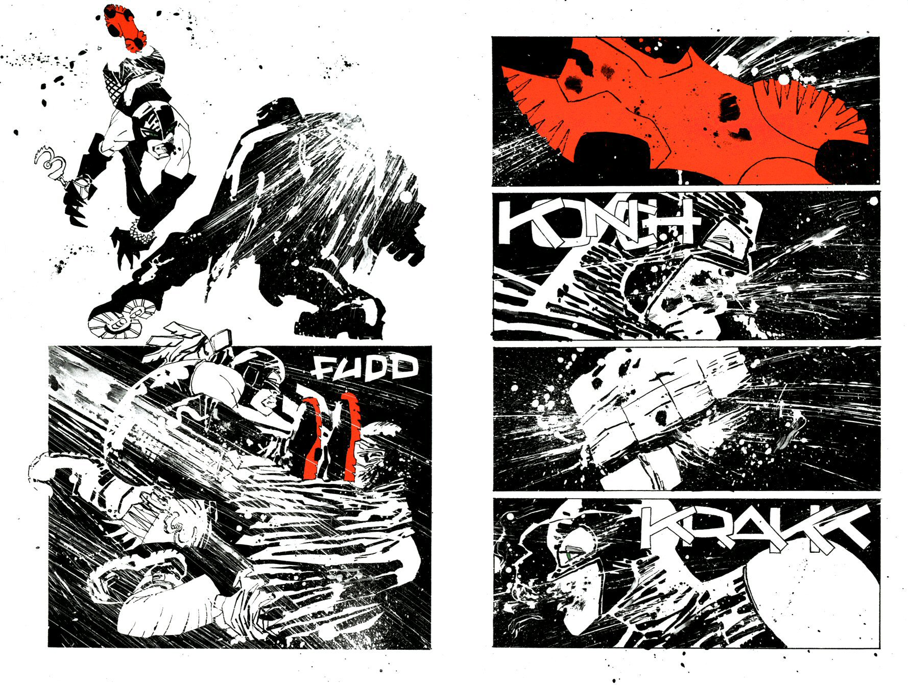 Read online Frank Miller's Holy Terror comic -  Issue # TPB - 24