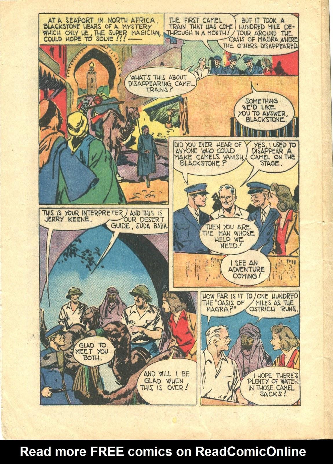 Read online Super-Magician Comics comic -  Issue #21 - 4