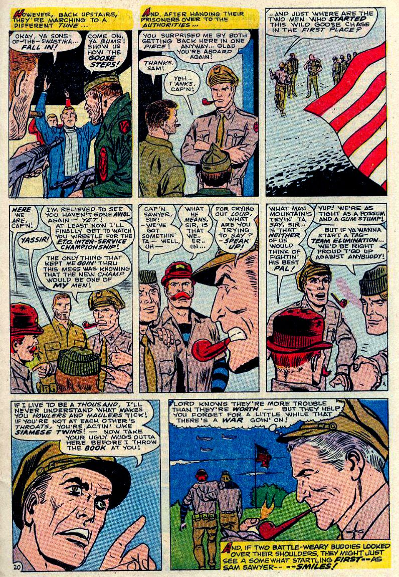 Read online Sgt. Fury comic -  Issue #84 - 29