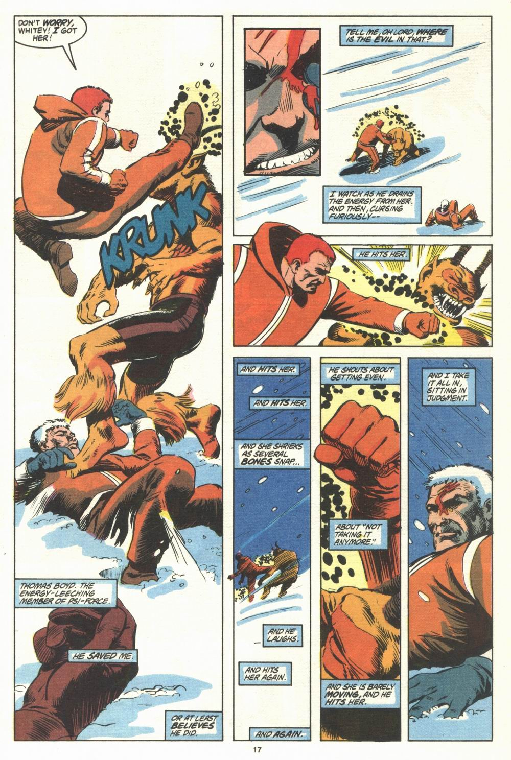 Read online Justice (1986) comic -  Issue #29 - 18