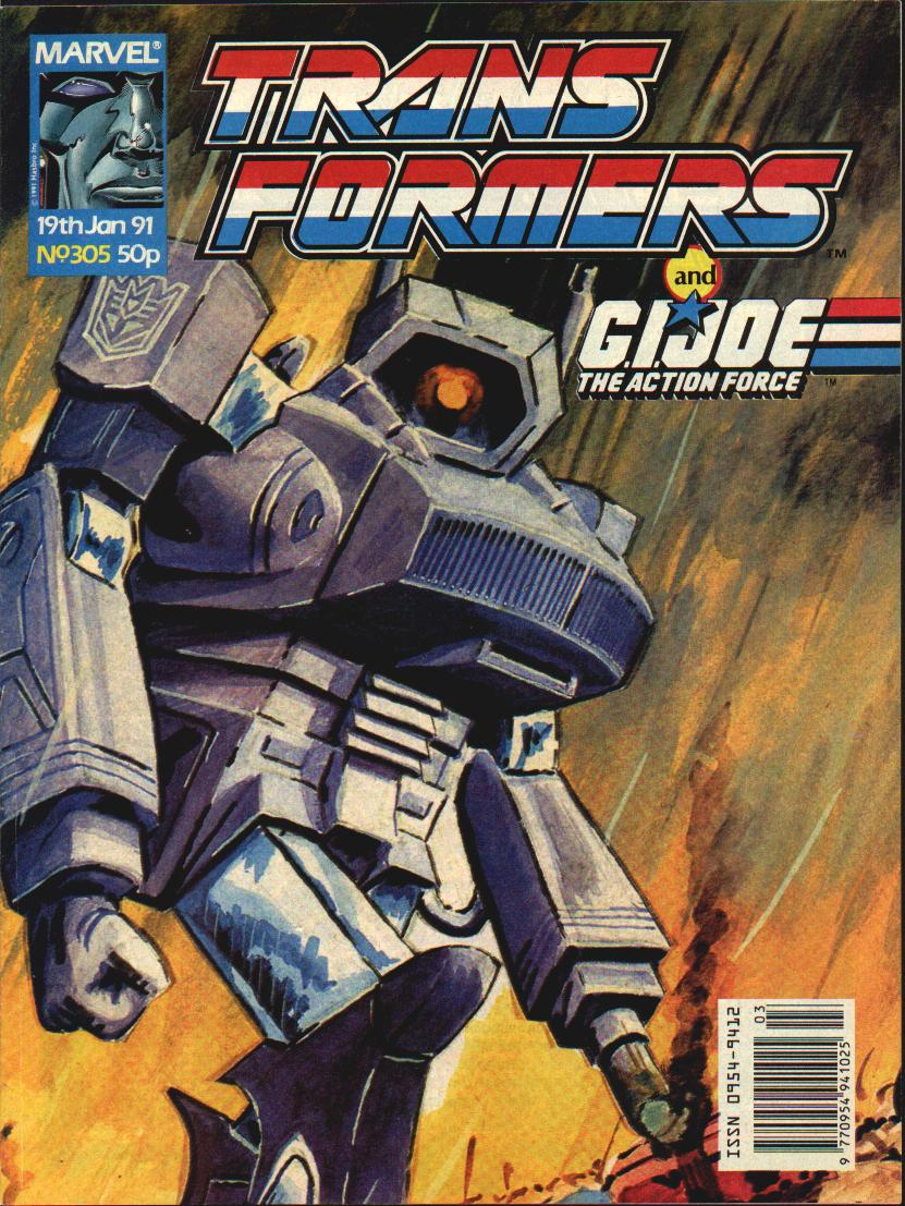 The Transformers (UK) 305 Page 1