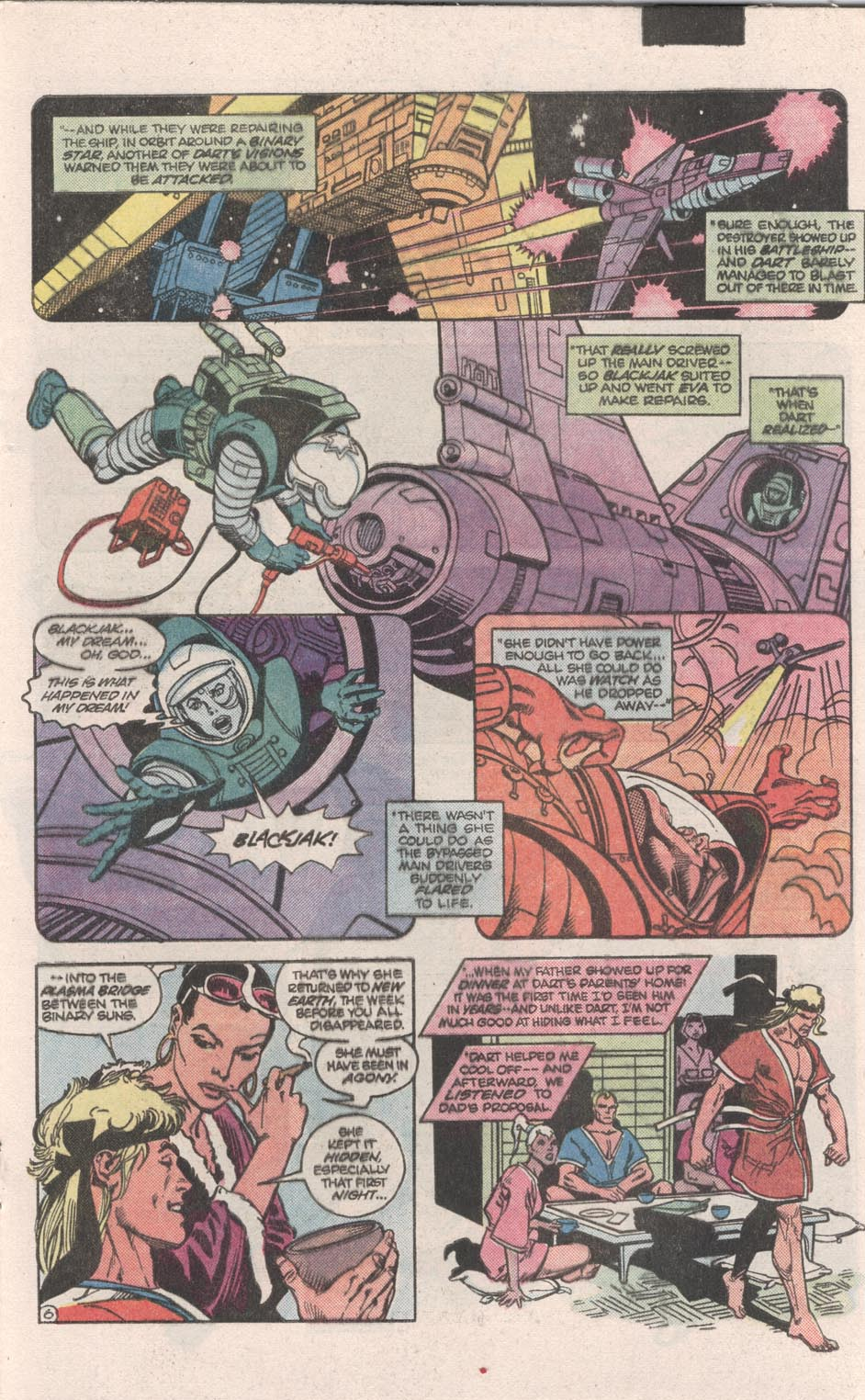 Read online Atari Force (1984) comic -  Issue #9 - 7