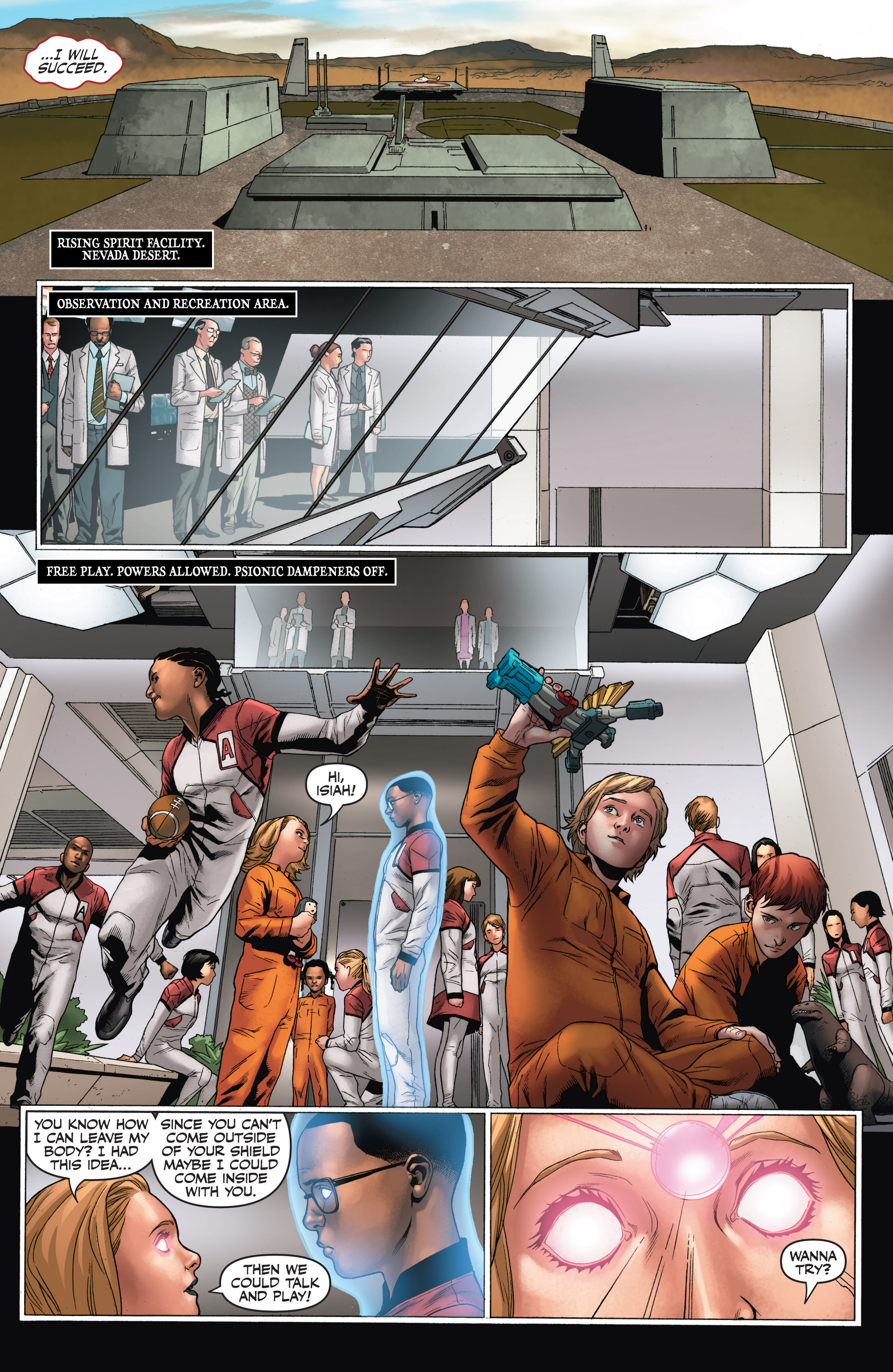 Read online Armor Hunters: Harbinger comic -  Issue # TPB - 95