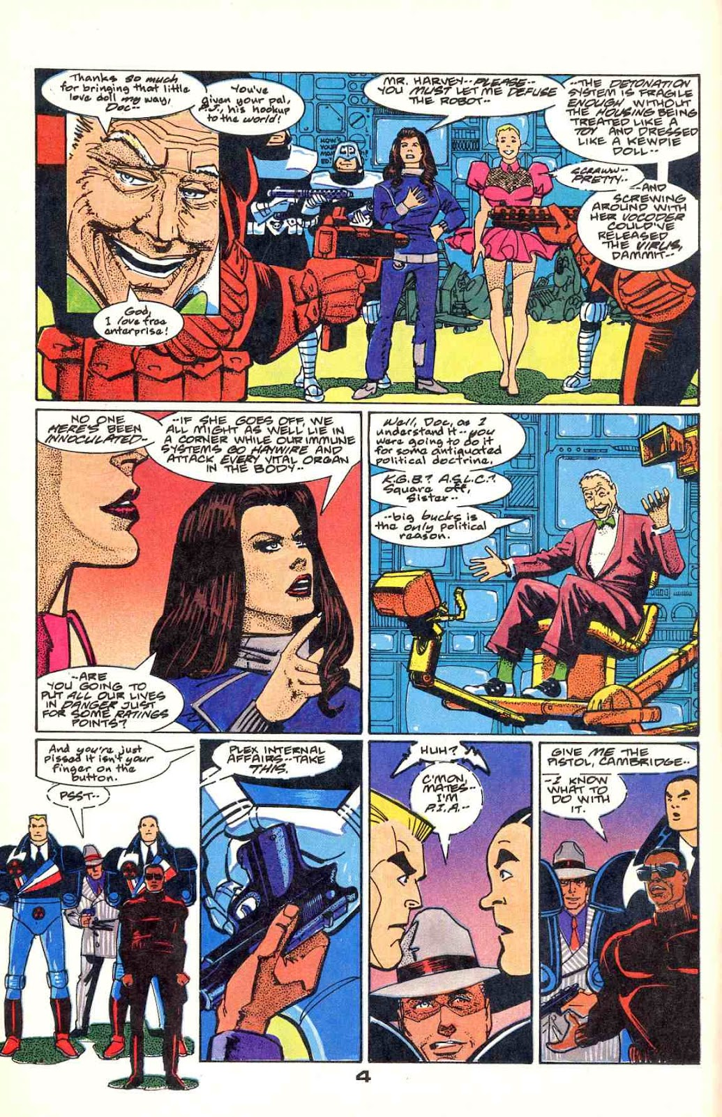 Howard Chaykin's American Flagg issue 12 - Page 6