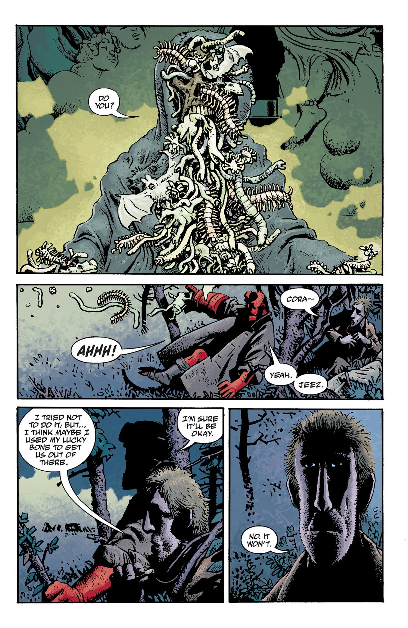 Read online Hellboy: The Crooked Man and Others comic -  Issue # TPB - 47