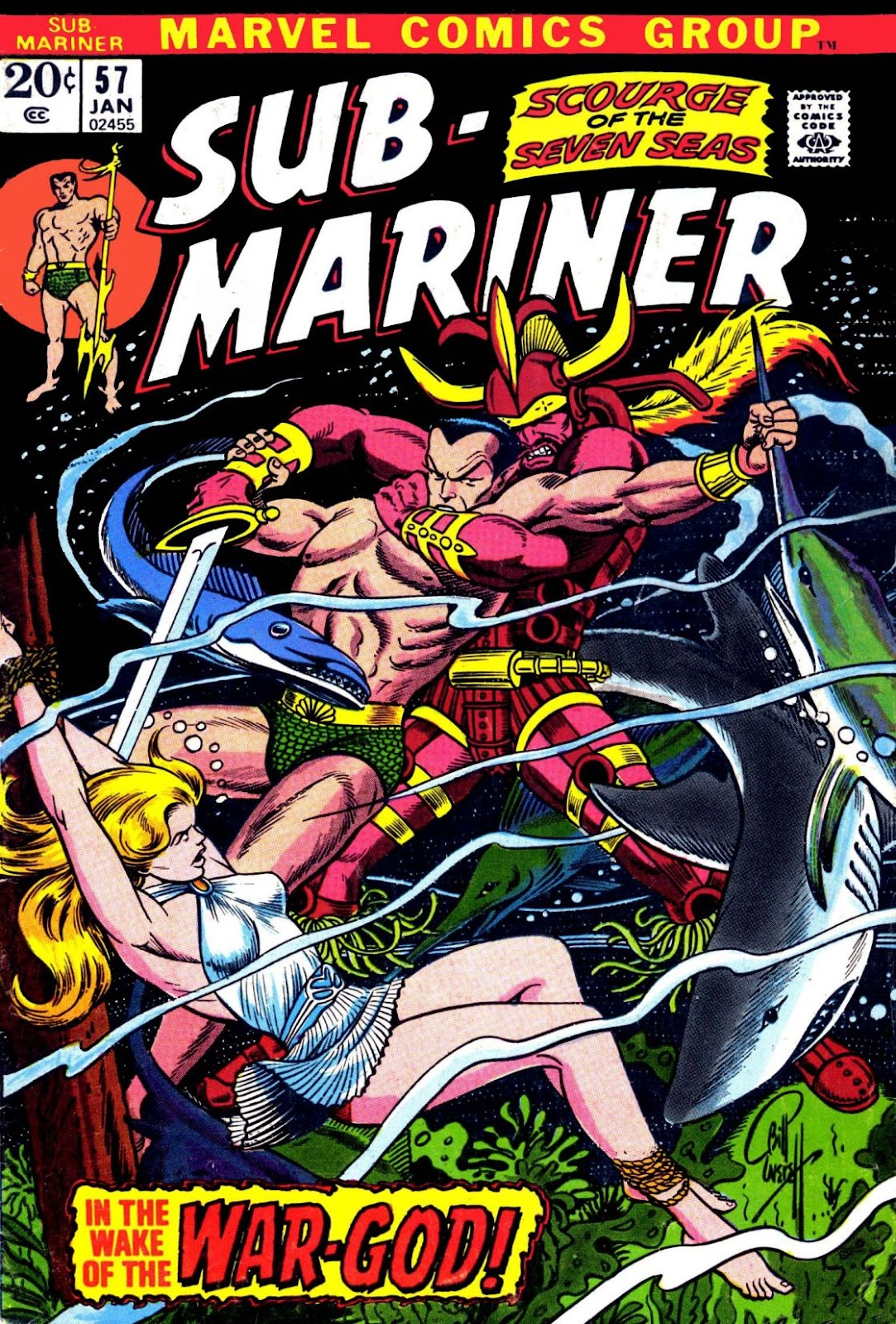 The Sub-Mariner 57 Page 1