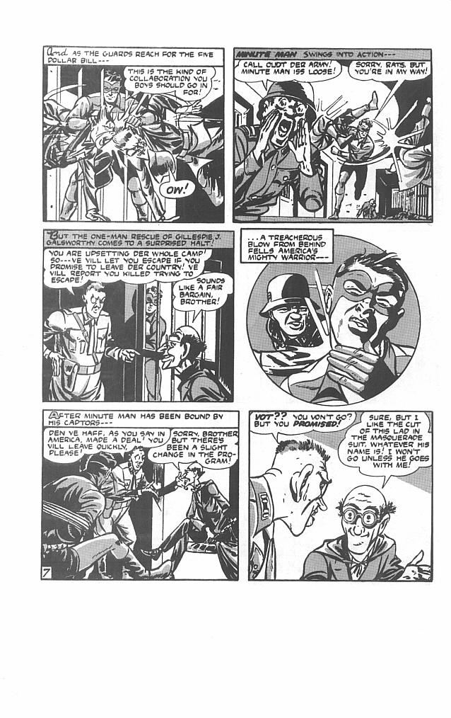 Read online Men of Mystery Comics comic -  Issue #30 - 32