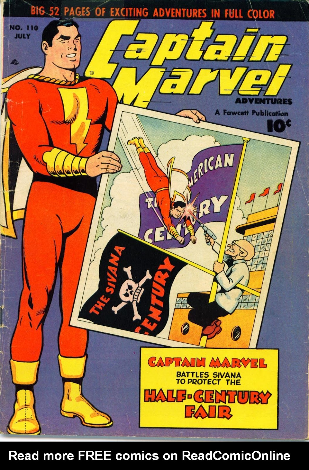 Captain Marvel Adventures 110 Page 1