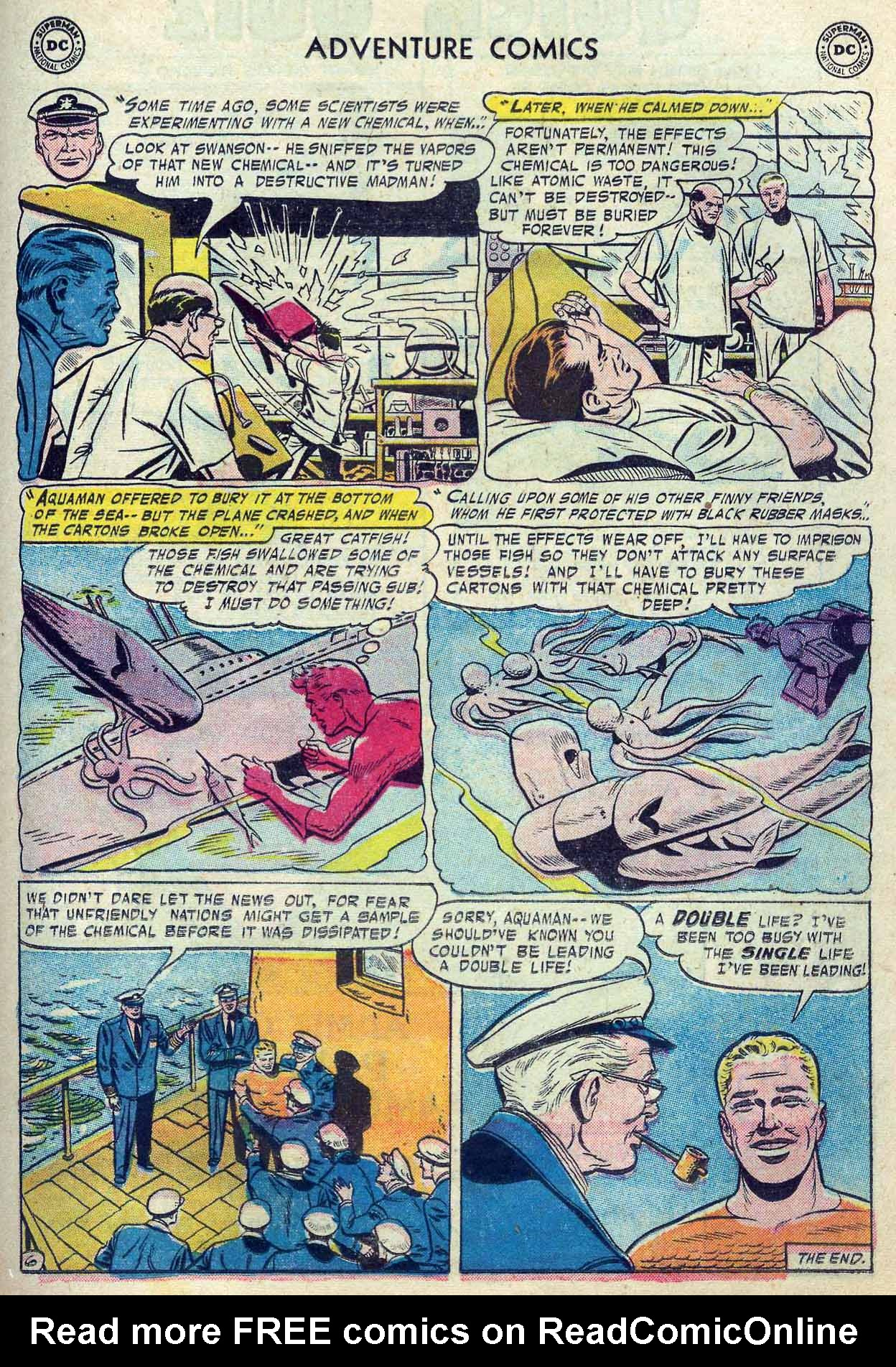 Read online Adventure Comics (1938) comic -  Issue #237 - 23