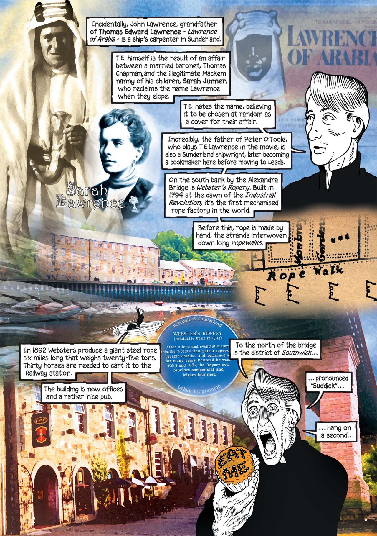 Read online Alice in Sunderland comic -  Issue # Full - 176