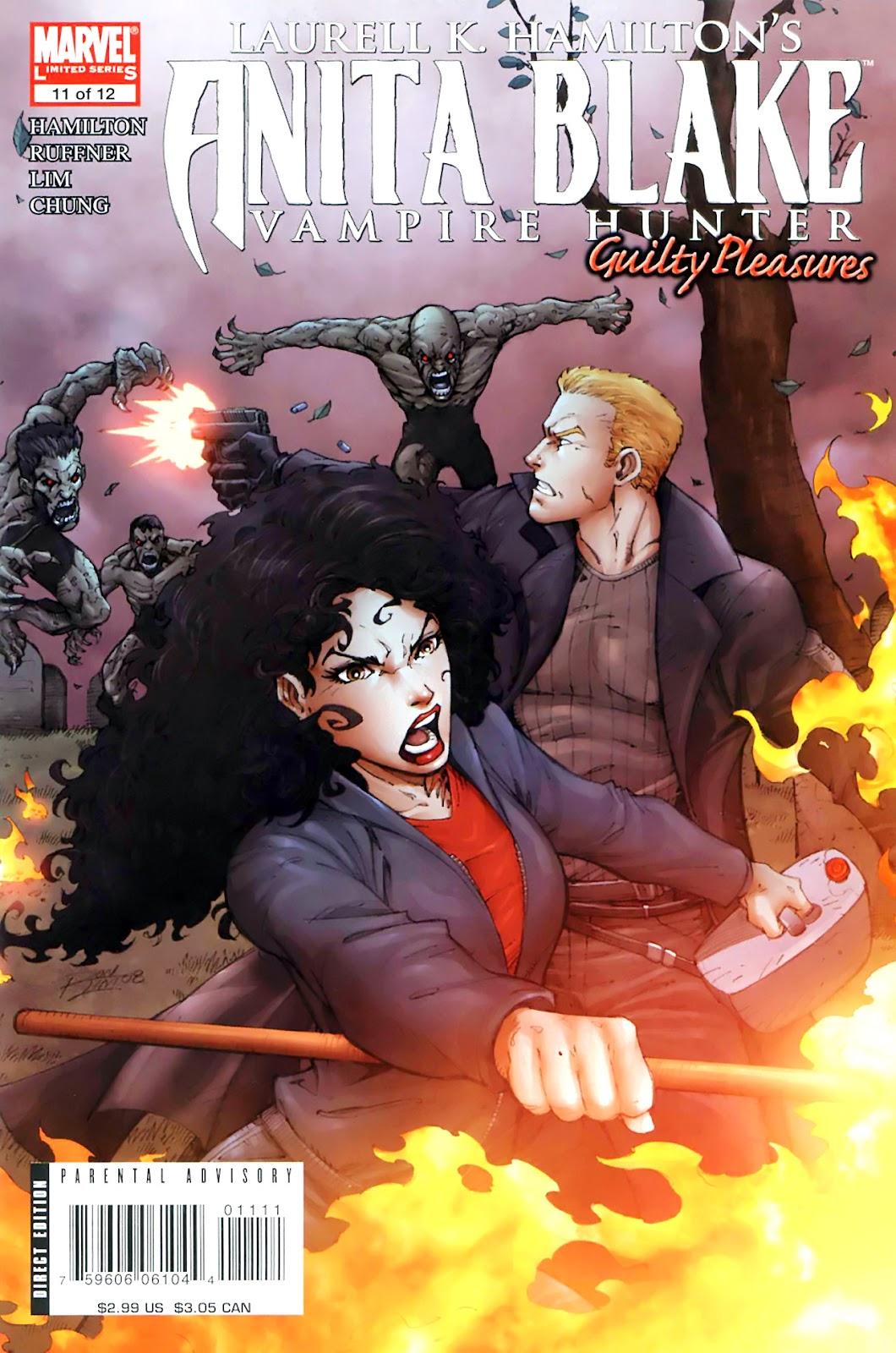 Anita Blake, Vampire Hunter: Guilty Pleasures issue 11 - Page 1