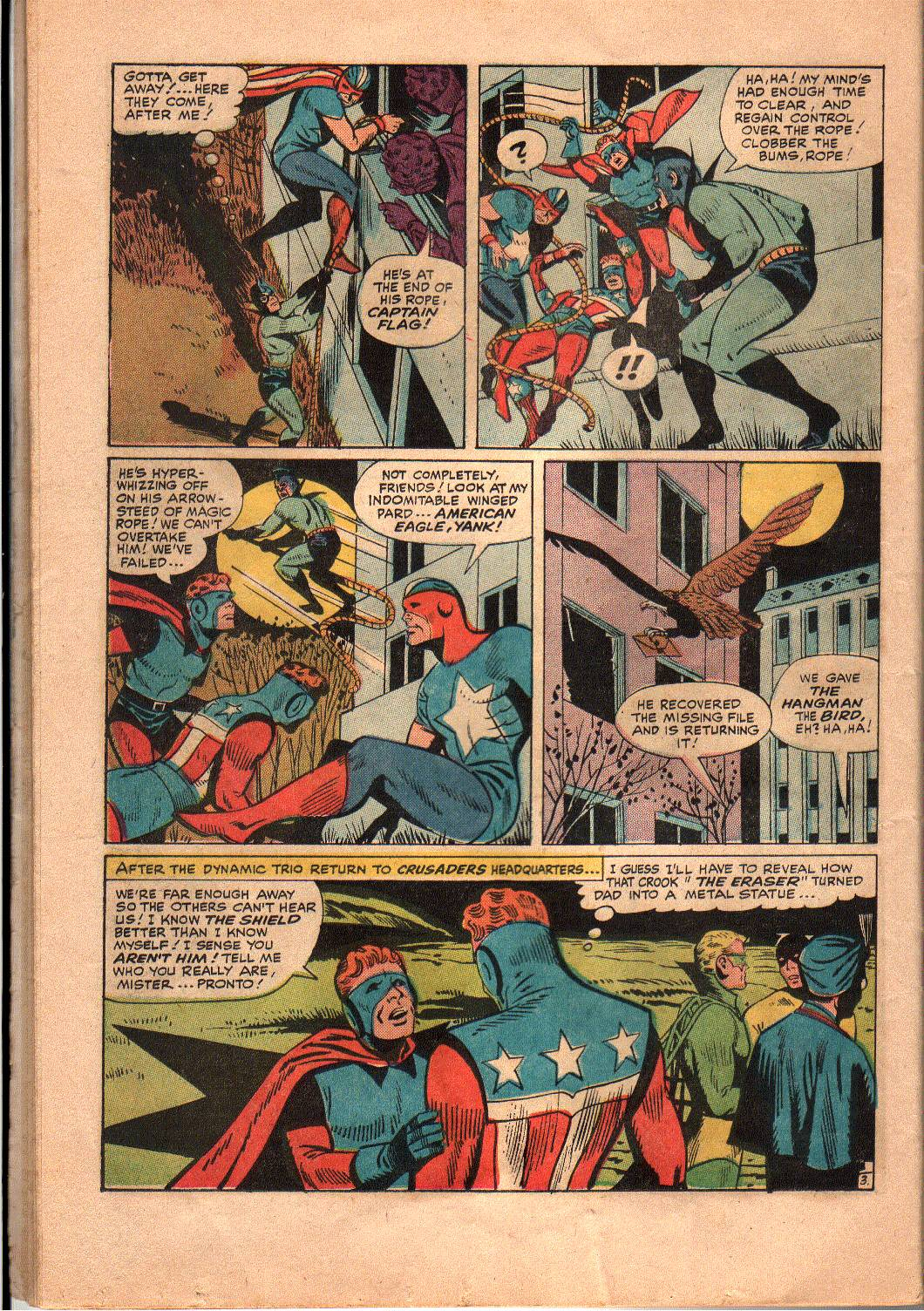 The Mighty Crusaders (1965) Issue #4 #4 - English 18