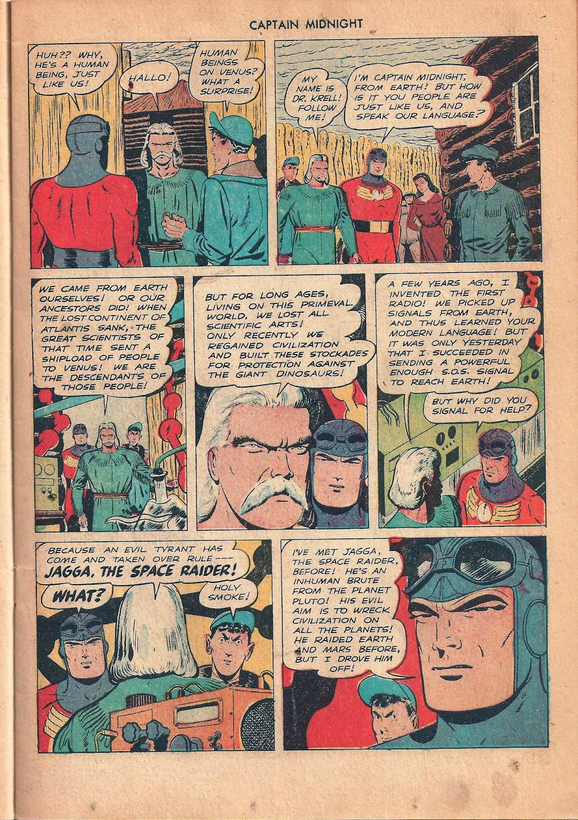 Captain Midnight (1942) issue 53 - Page 19