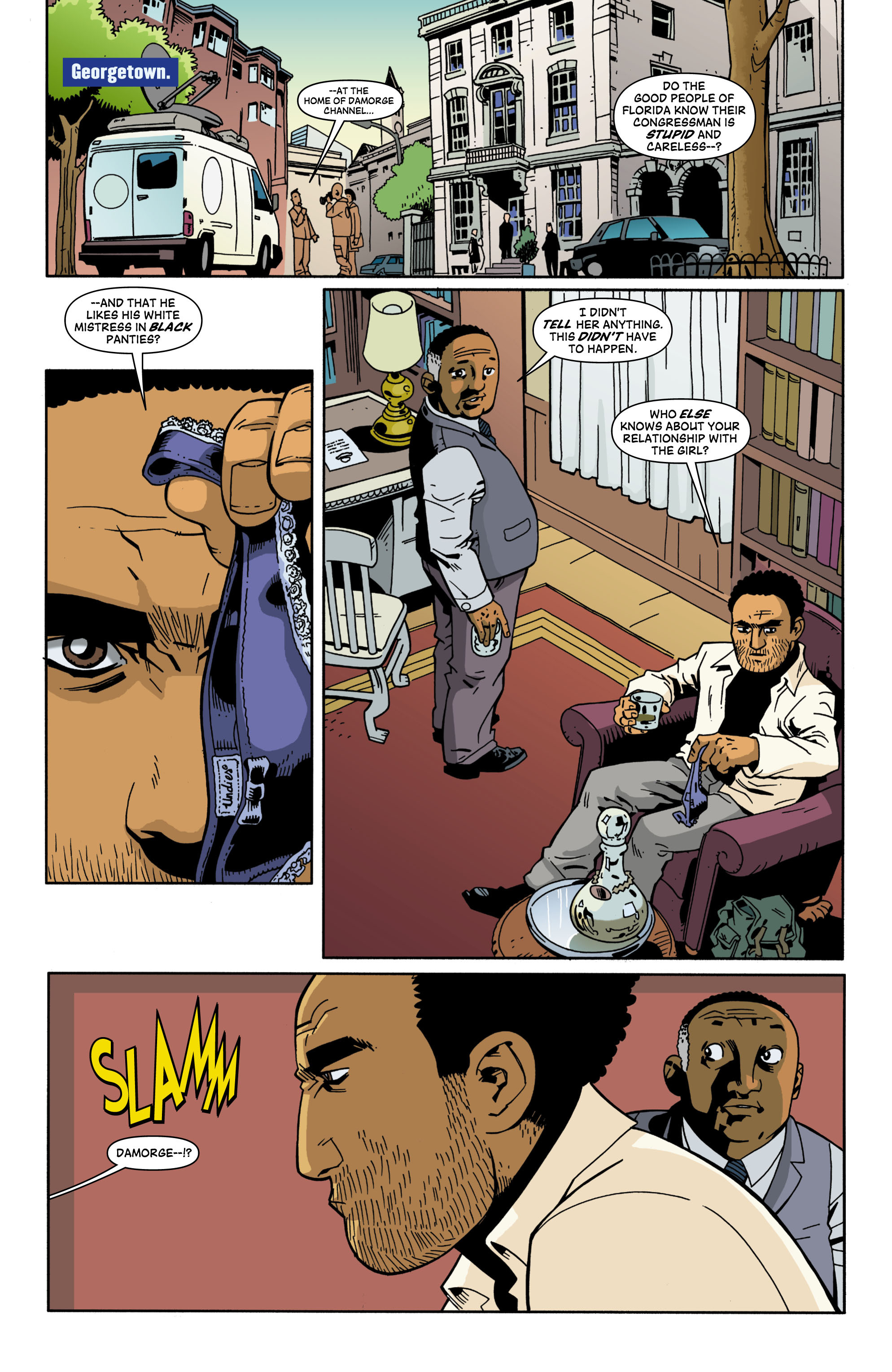 Read online Red Herring comic -  Issue #2 - 4