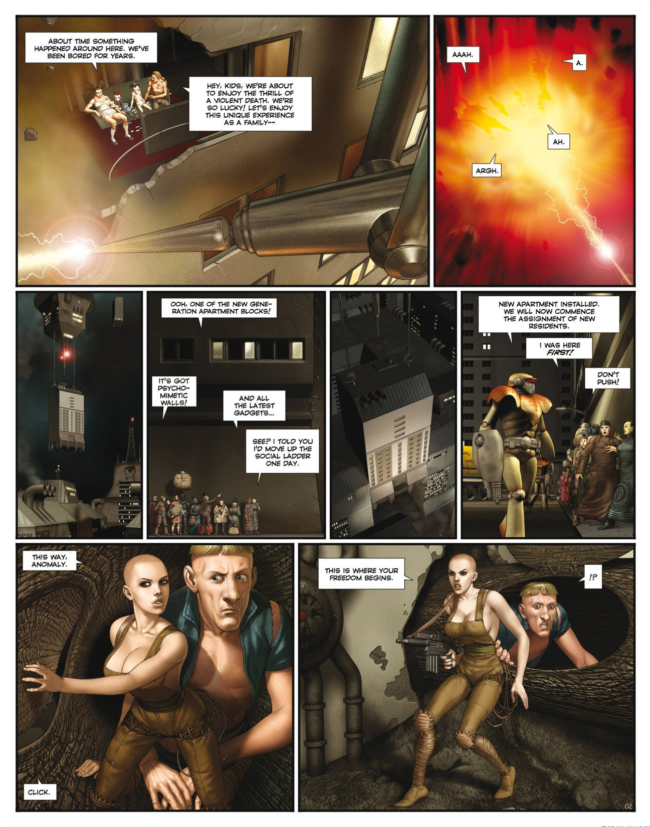 Read online Megalex (2014) comic -  Issue #2 - 4