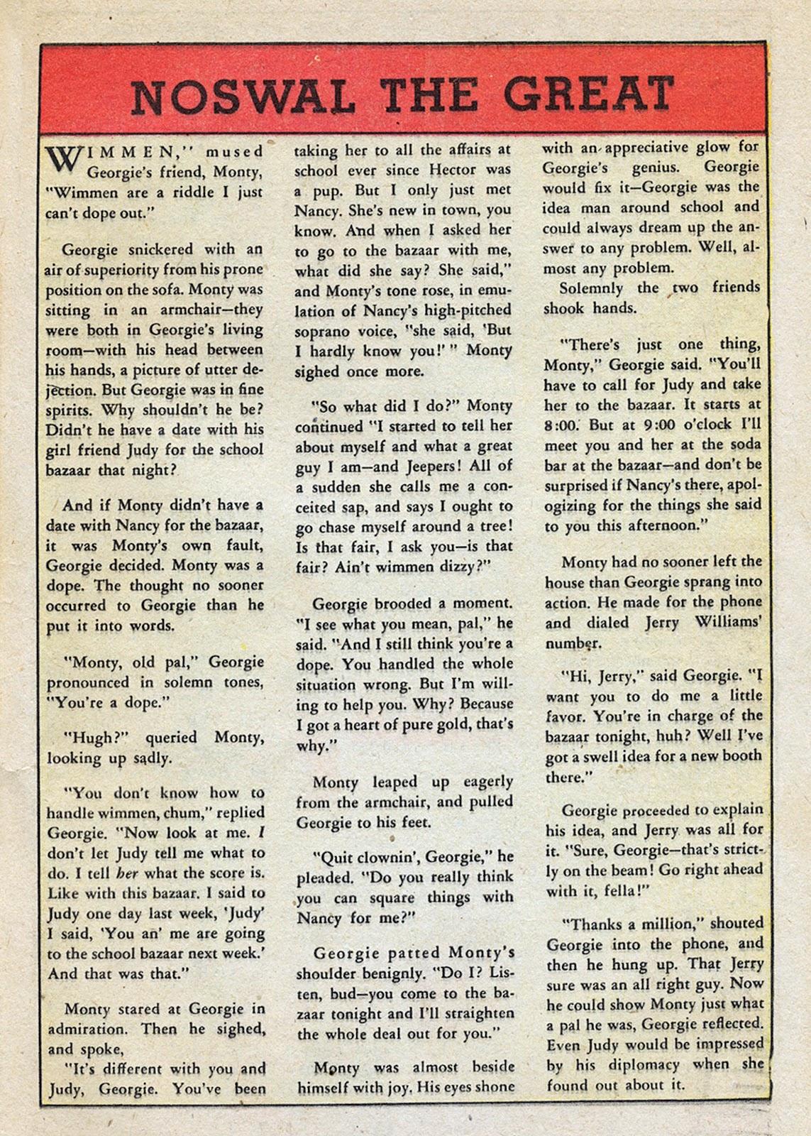 Georgie Comics (1945) issue 4 - Page 25