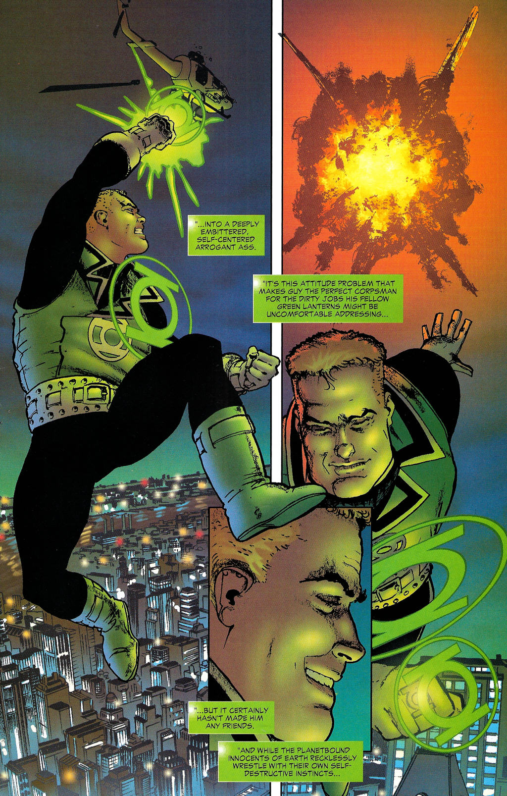 Read online Guy Gardner: Collateral Damage comic -  Issue #1 - 10