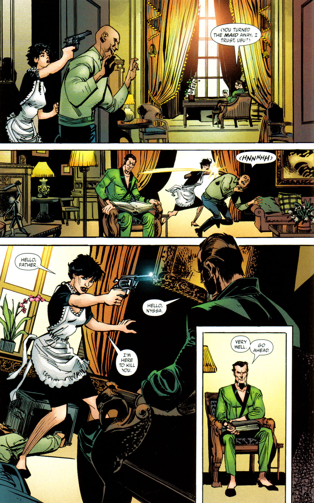 Read online Batman: Death and the Maidens comic -  Issue #8 - 5