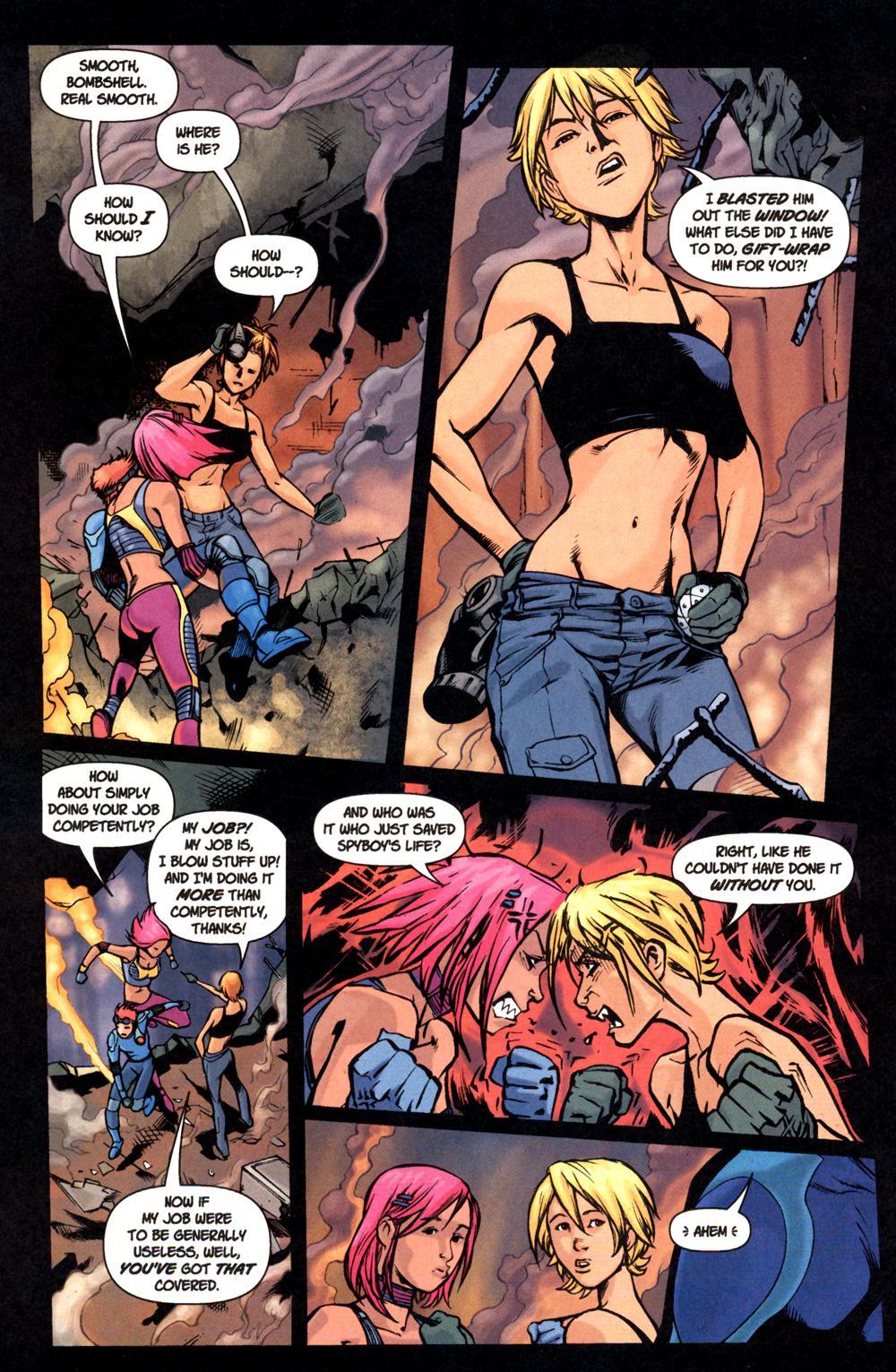 Read online SpyBoy: Final Exam comic -  Issue #1 - 12