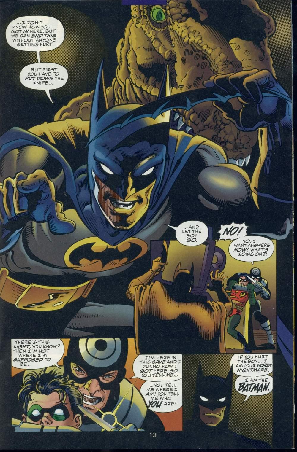 Read online DC Versus Marvel Comics comic -  Issue #1 - 21