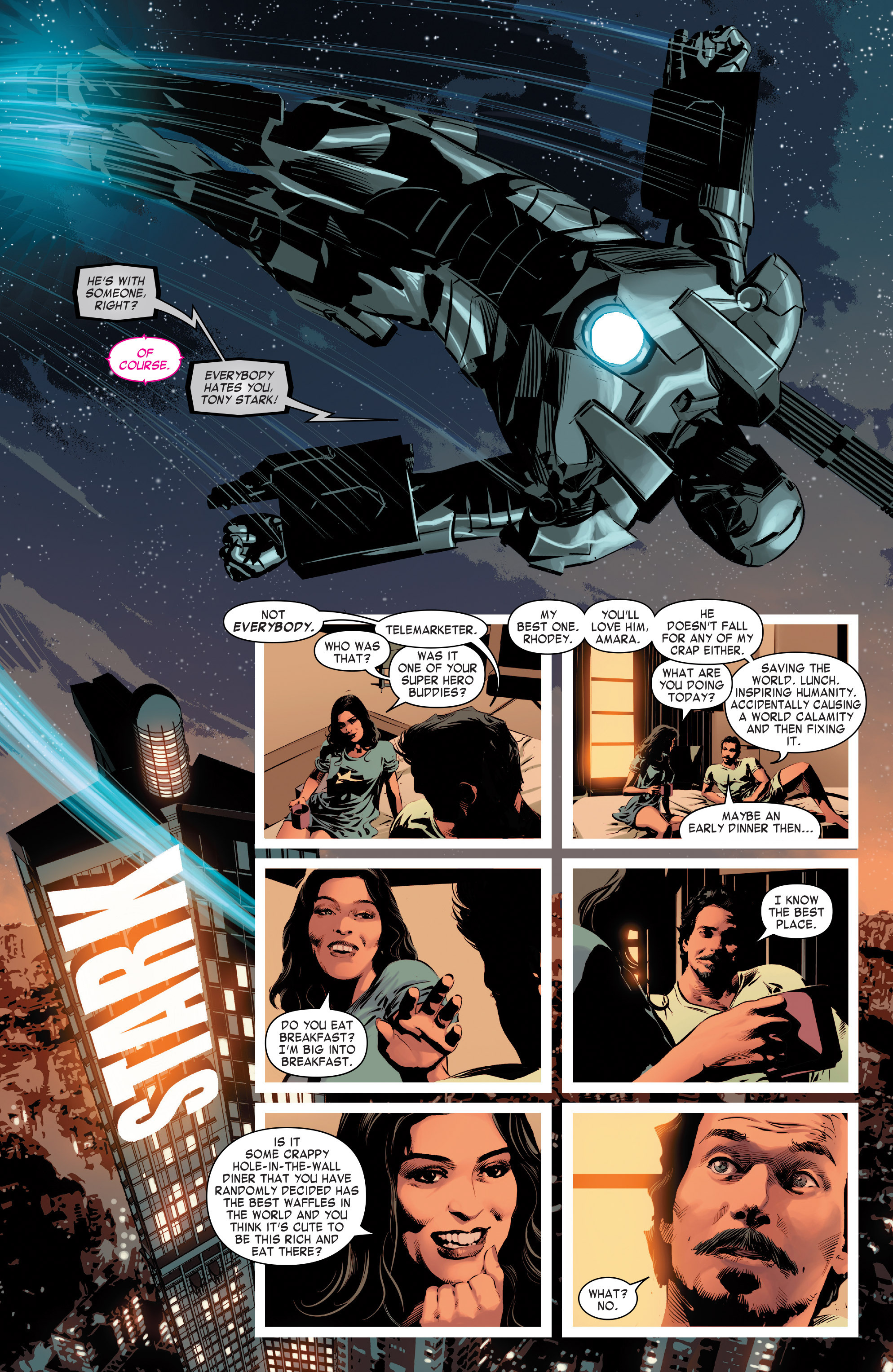 Read online True Believers: Invincible Iron Man-The War Machines comic -  Issue # Full - 10