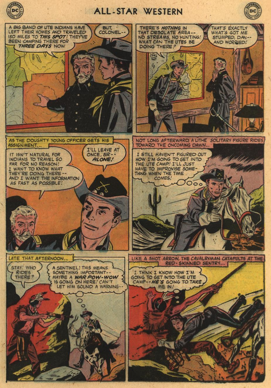 Read online All-Star Western (1951) comic -  Issue #100 - 21