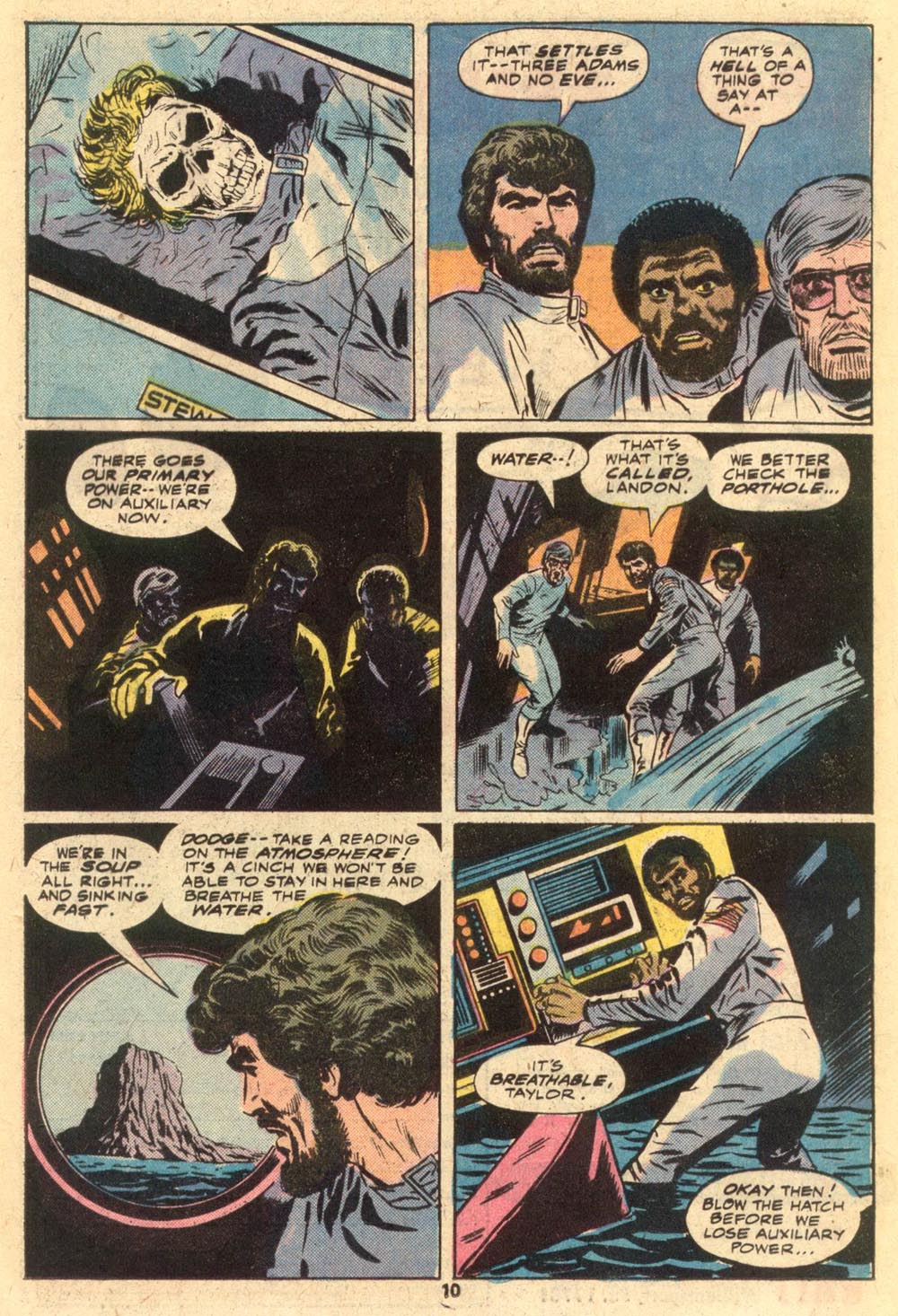 Read online Adventures on the Planet of the Apes comic -  Issue #1 - 7