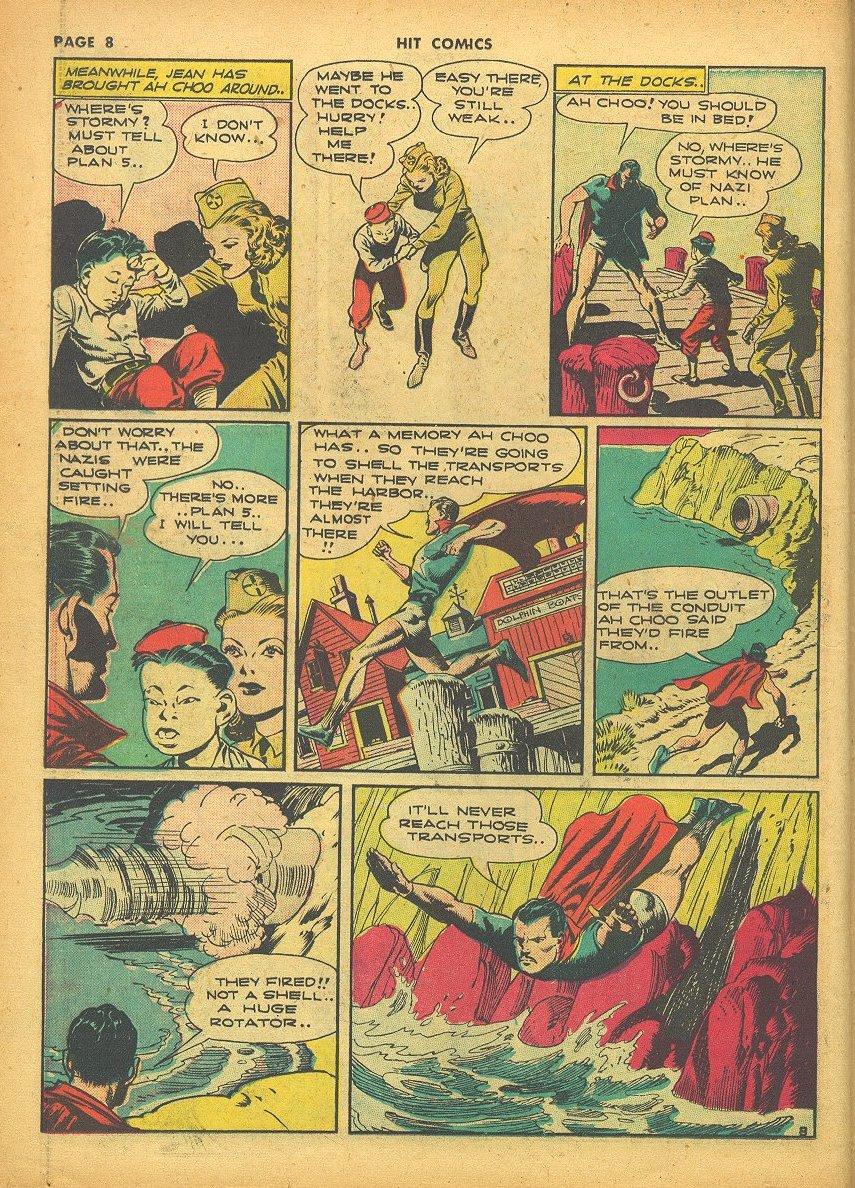 Read online Hit Comics comic -  Issue #24 - 10