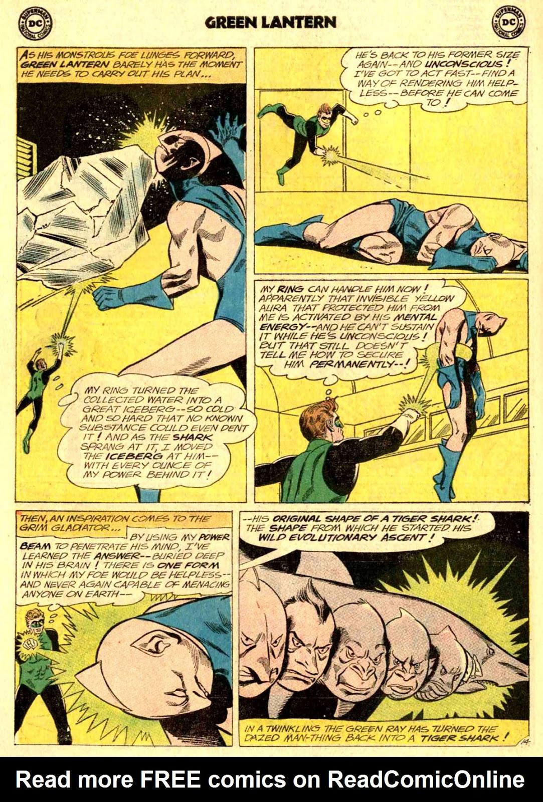 Green Lantern (1960) Issue #24 #27 - English 18