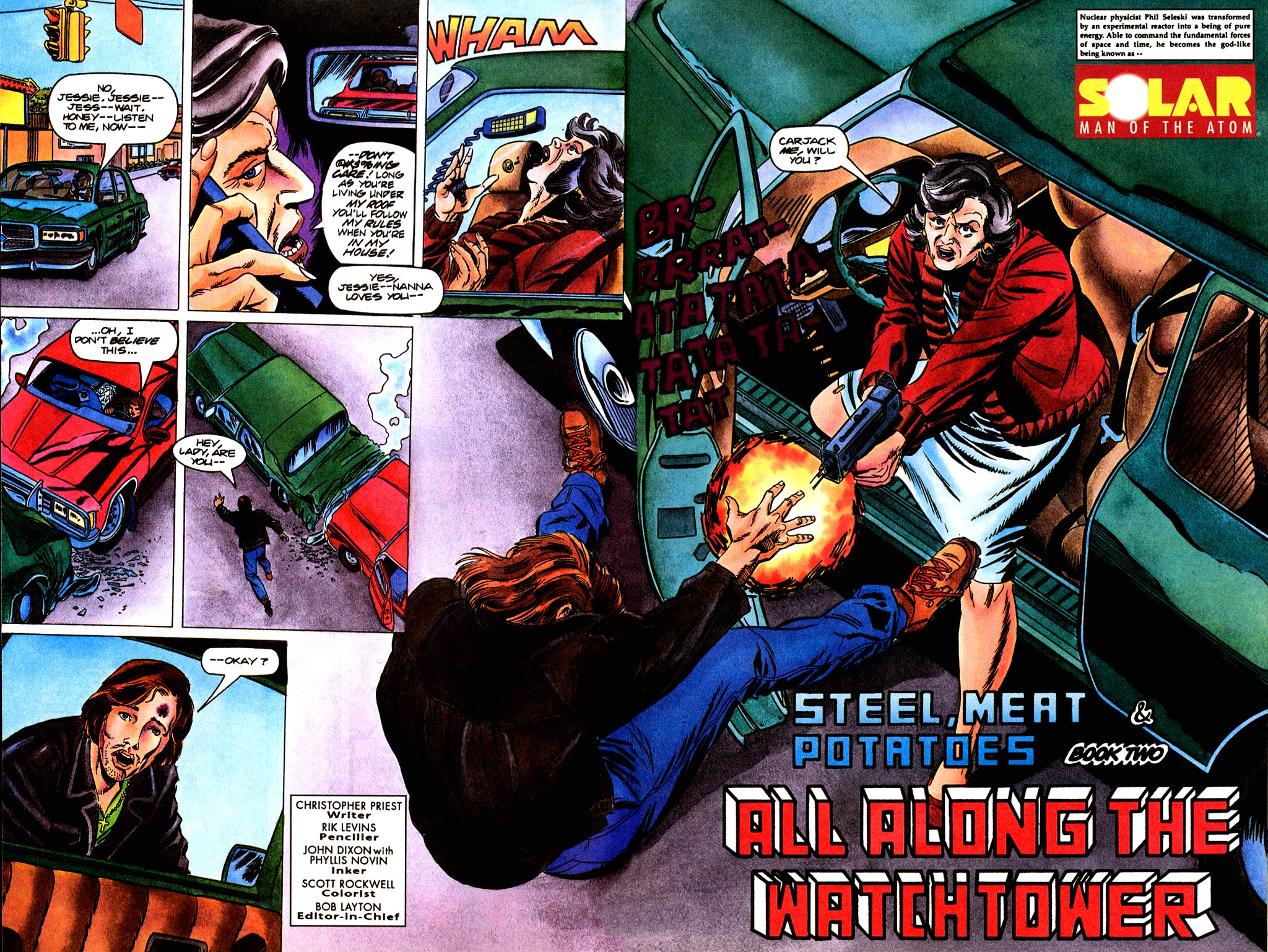 Read online Solar, Man of the Atom comic -  Issue #45 - 3