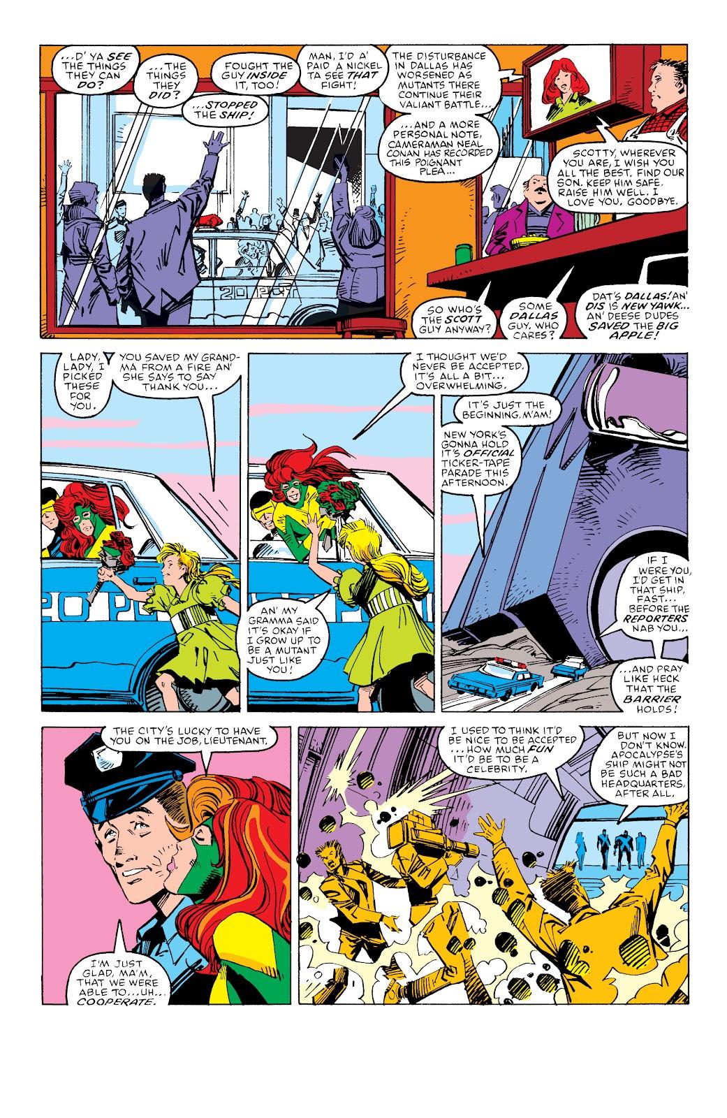 Read online X-Men Milestones: Fall of the Mutants comic -  Issue # TPB (Part 3) - 63