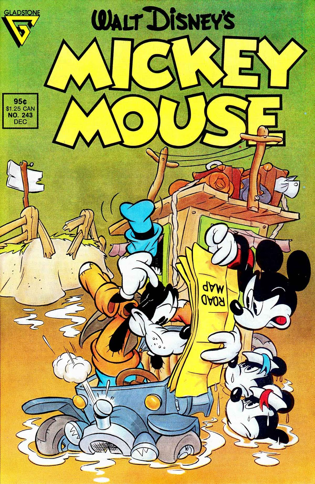Walt Disney's Mickey Mouse issue 243 - Page 1